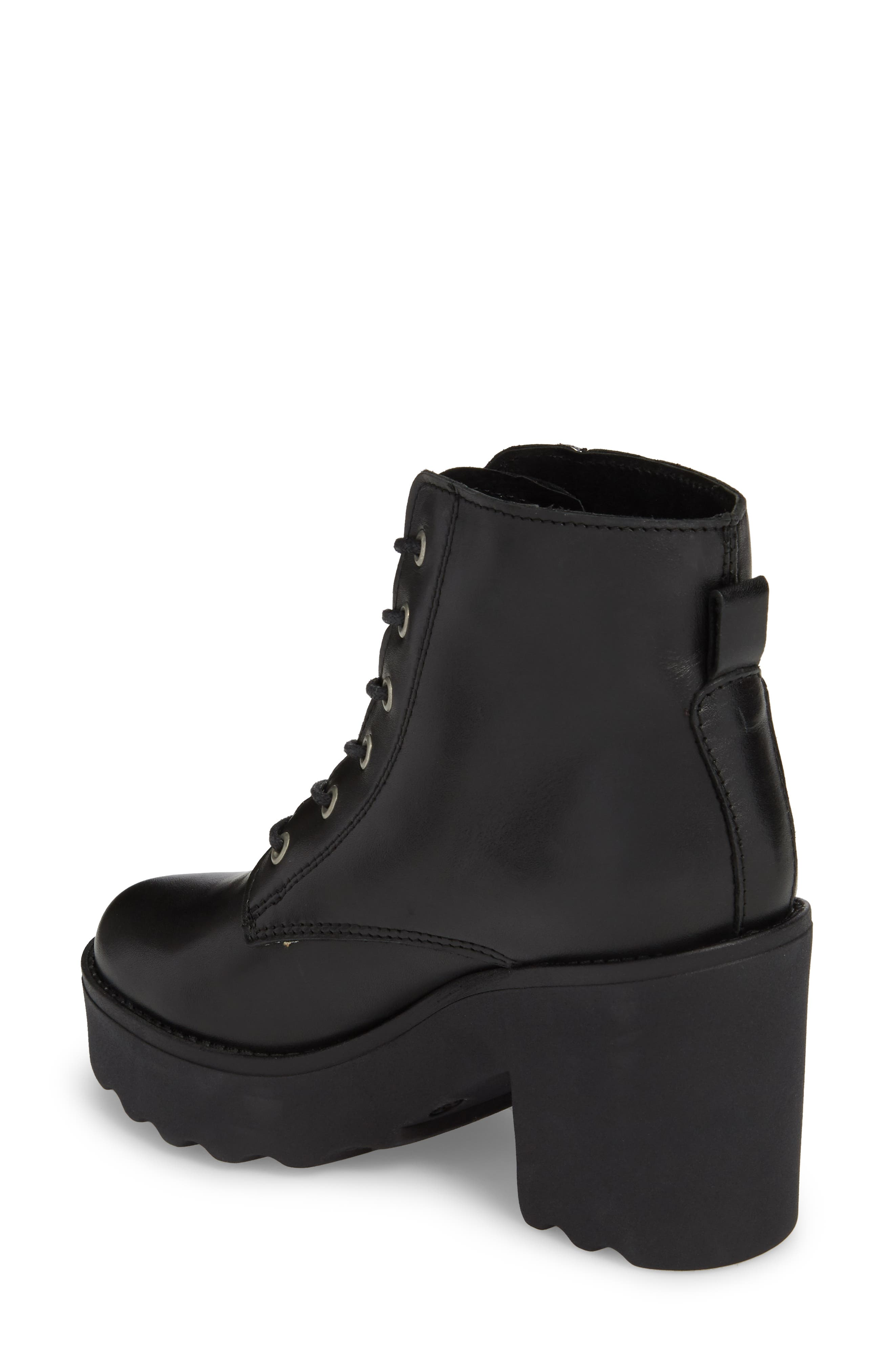 Gusto Boot,                             Alternate thumbnail 2, color,                             Black Leather