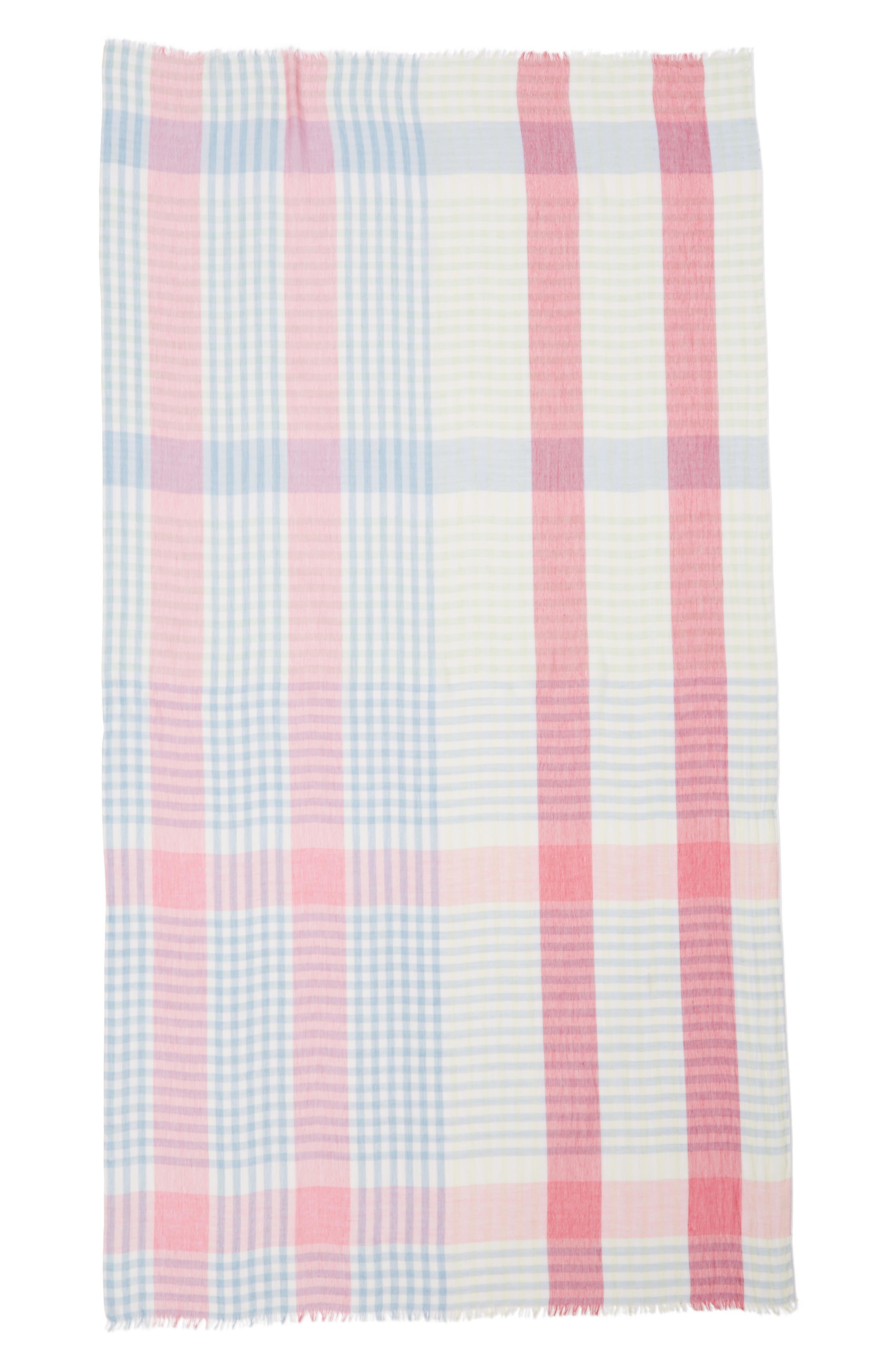 Alternate Image 3  - Nordstrom Yarn Dyed Stripe Wrap