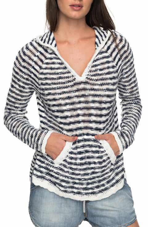 Roxy Slouchy Morning Stripe Hoodie