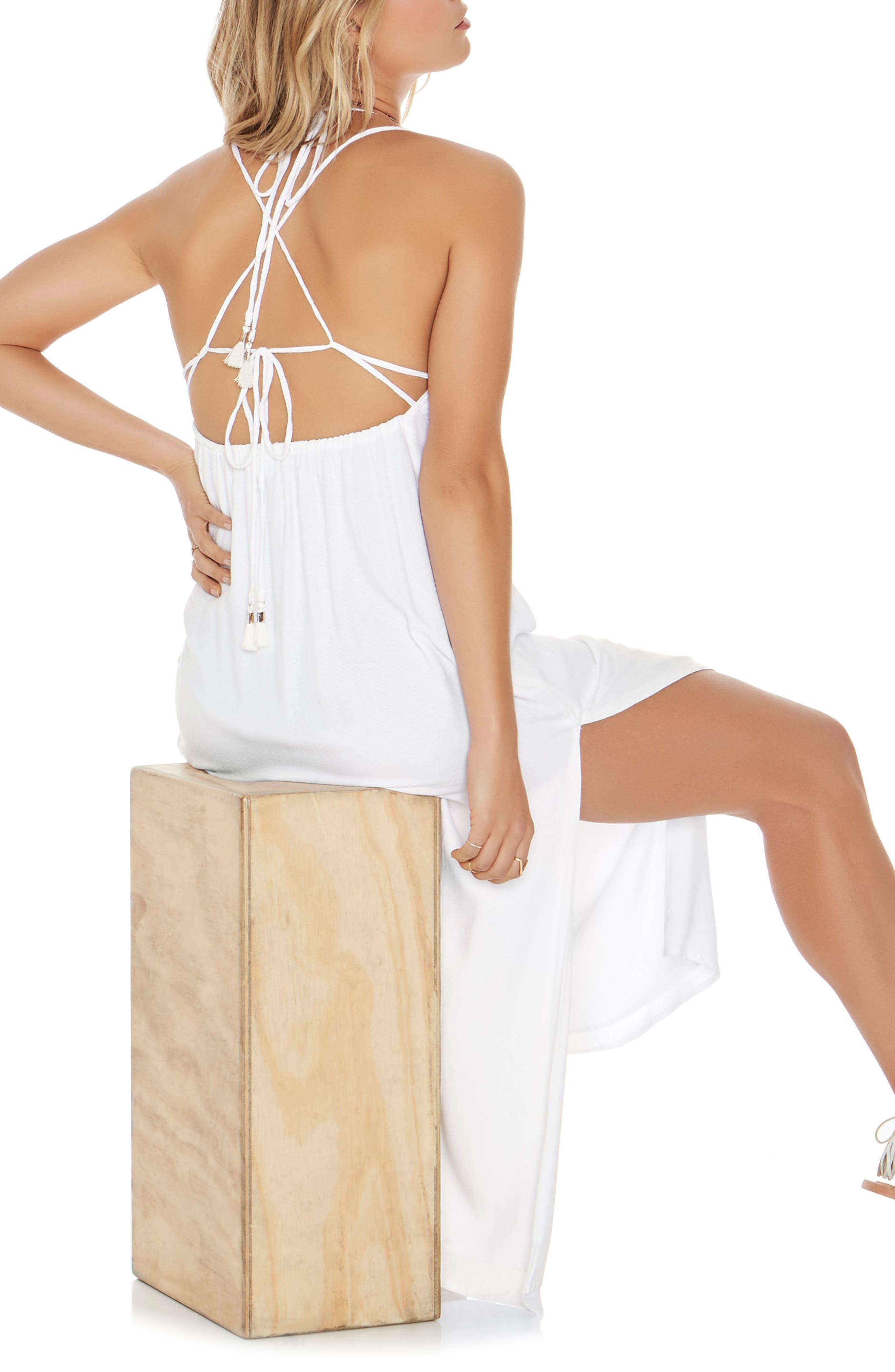 Beachside Beauty Cover-Up Dress,                             Alternate thumbnail 2, color,                             White