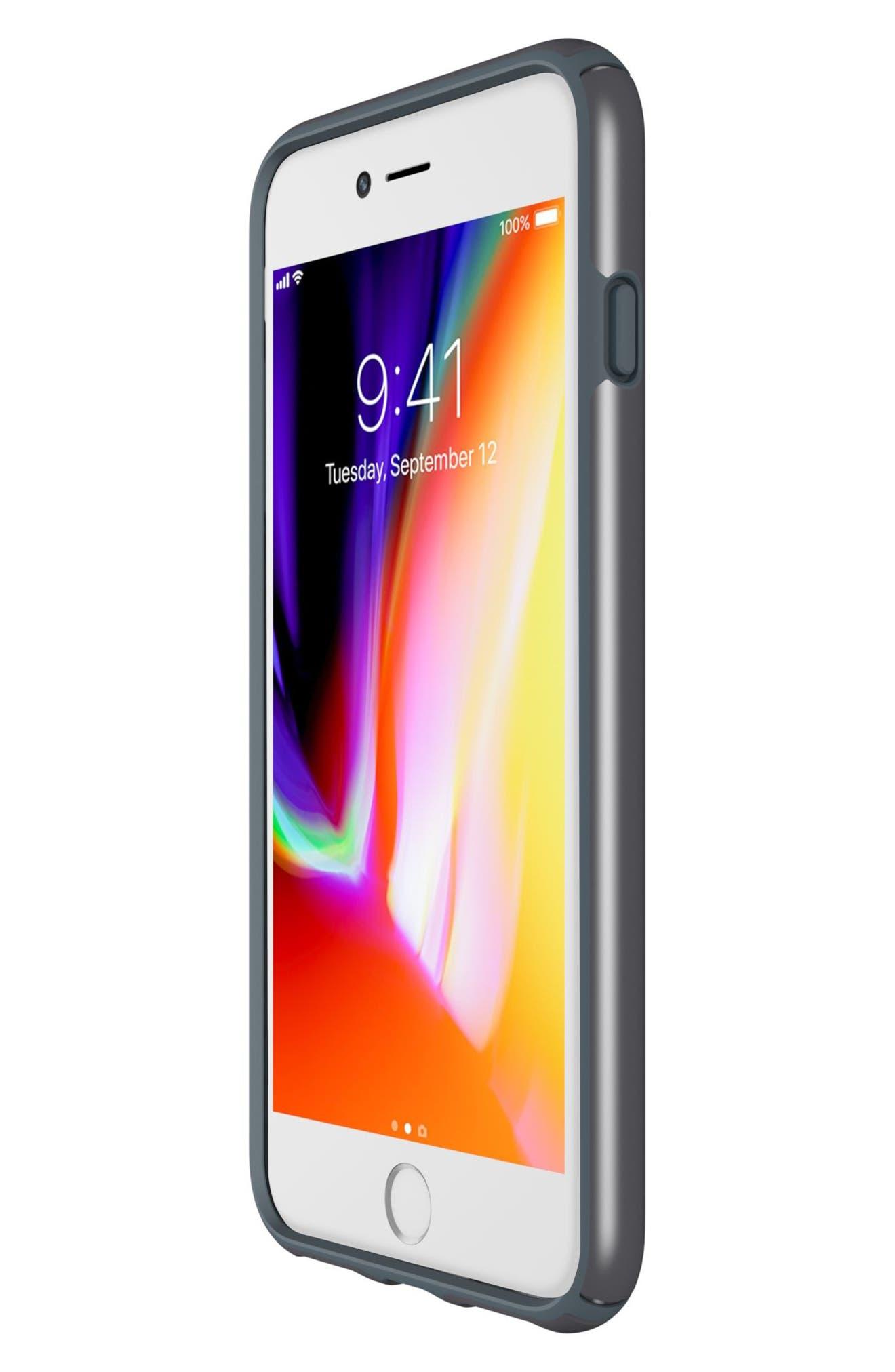 iPhone 6/6s/7/8 Case,                             Alternate thumbnail 6, color,                             Tungsten Grey Metallic/ Grey