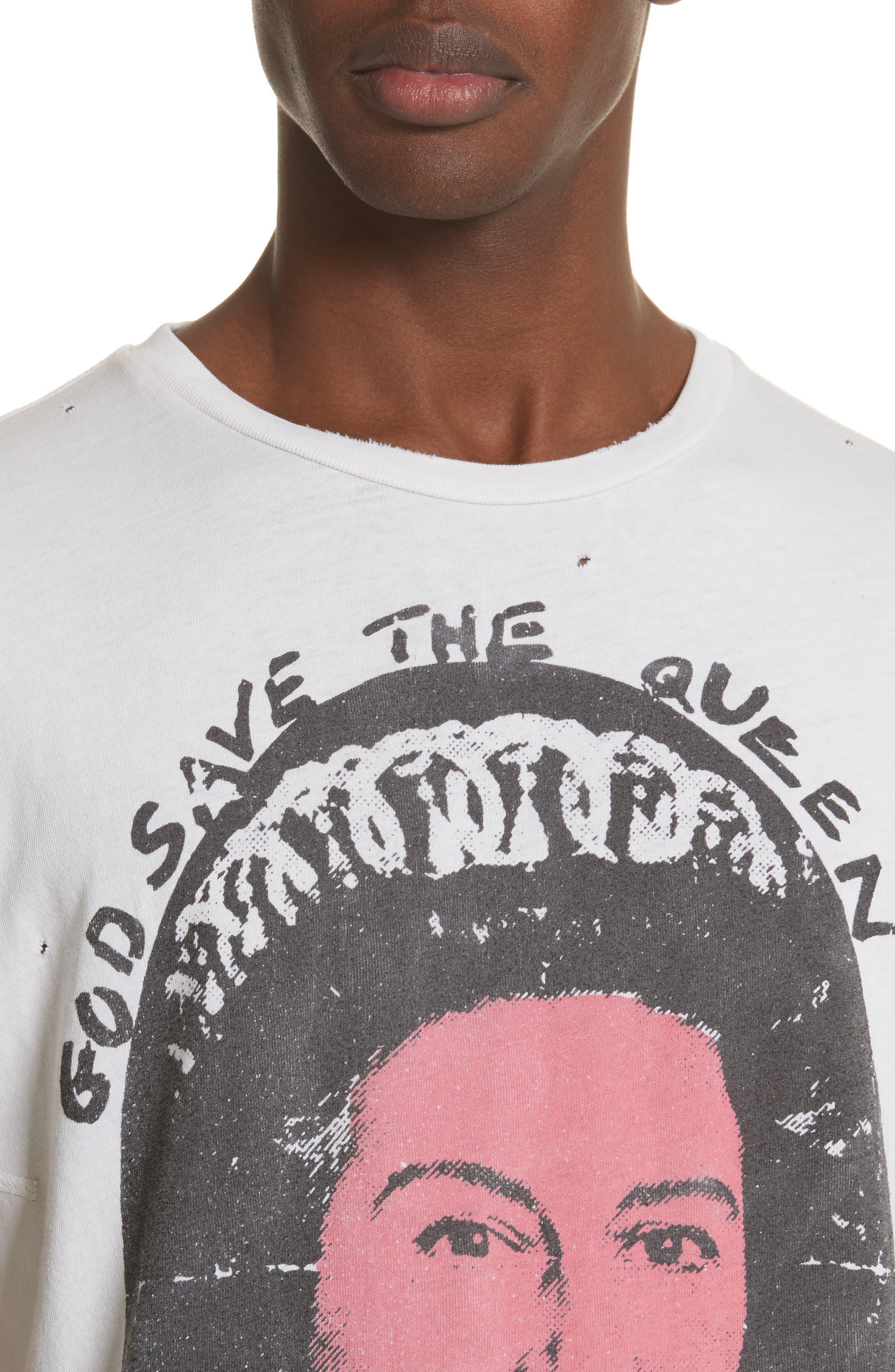 Sex Pistols Graphic T-Shirt,                             Alternate thumbnail 4, color,                             Off White