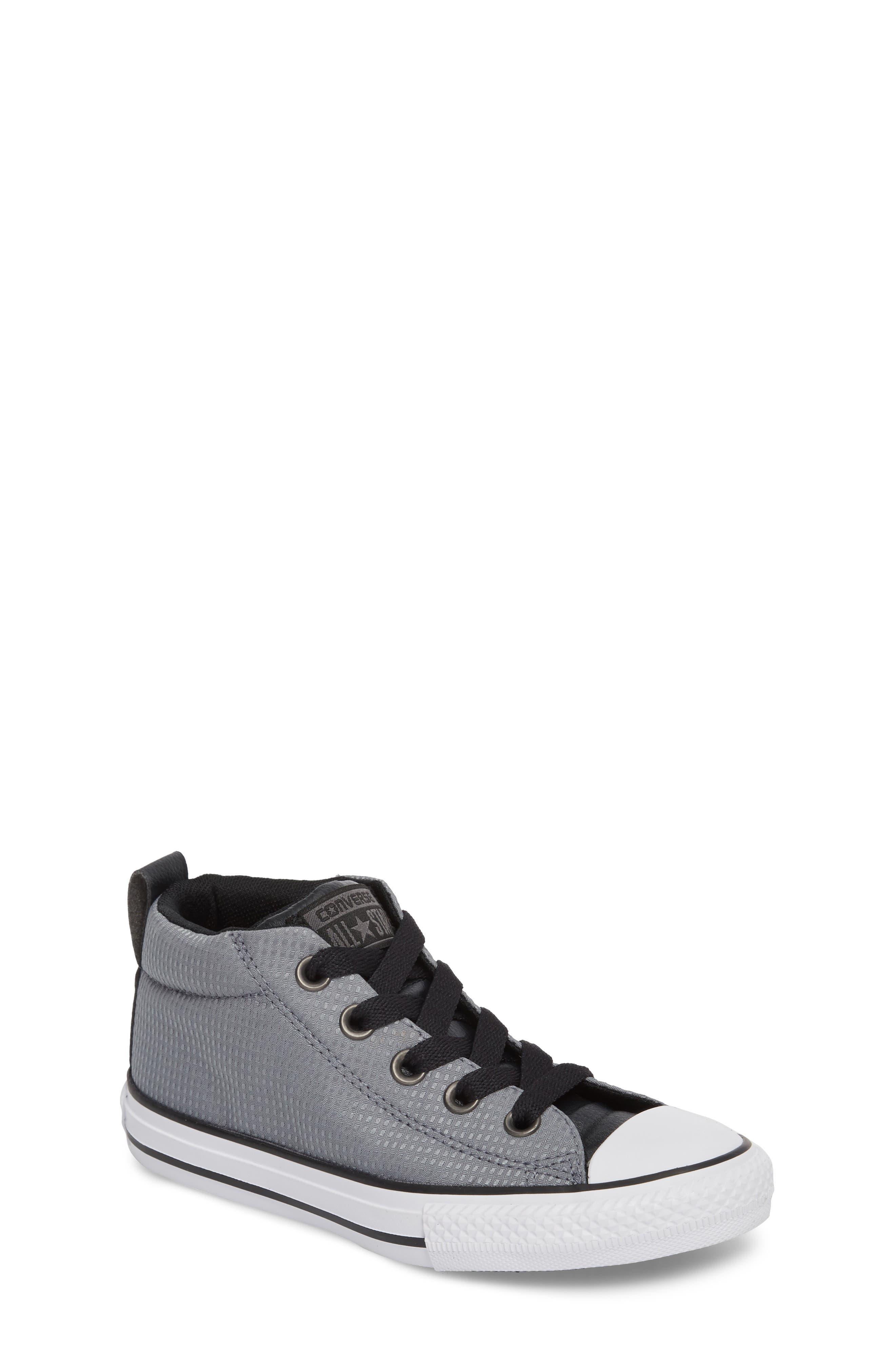Alternate Image 1 Selected - Converse Chuck Taylor® All Star® Street Mid Backpack Sneaker (Baby, Walker, Toddler, Little Kid & Big Kid)