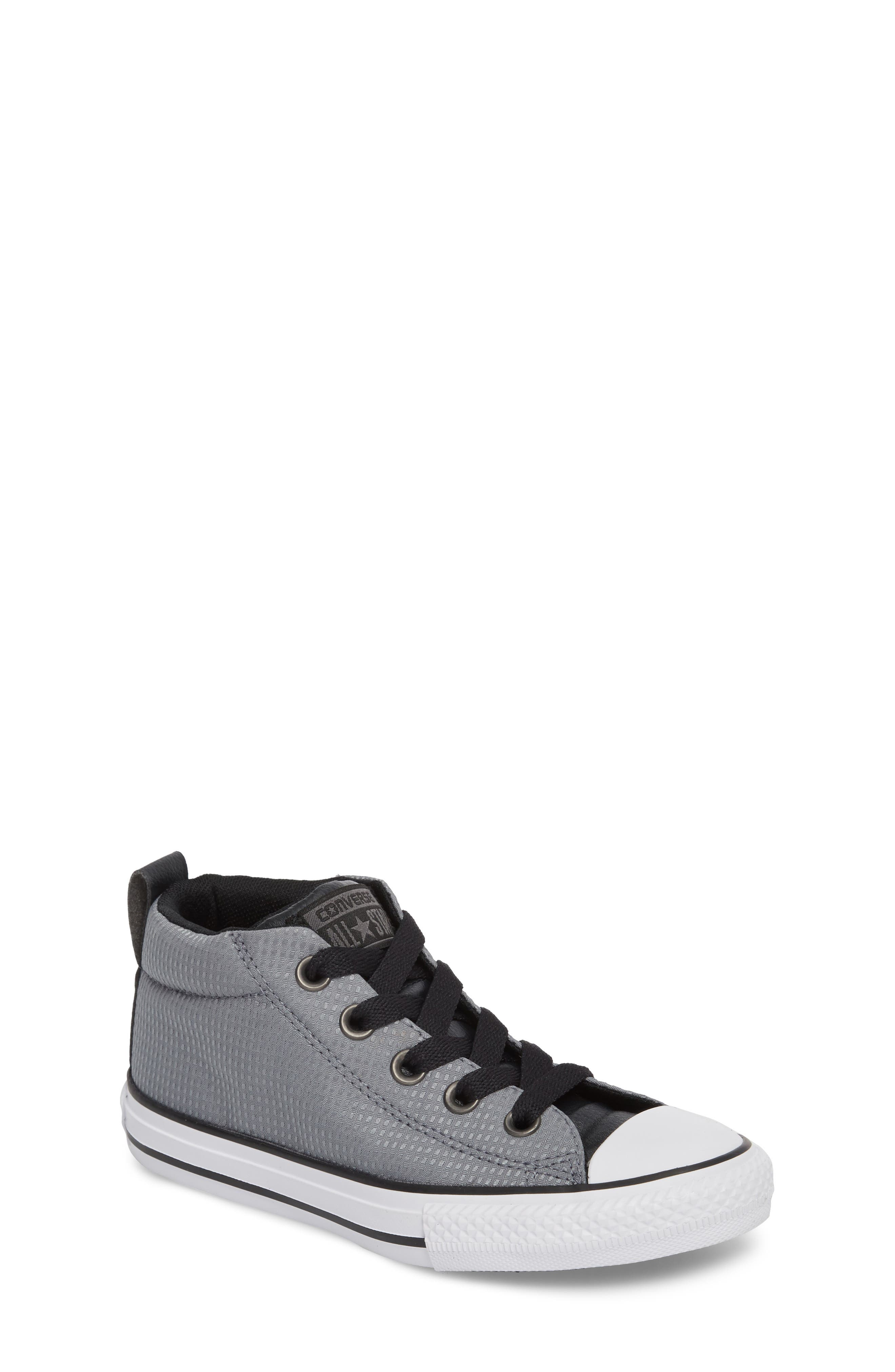 Chuck Taylor<sup>®</sup> All Star<sup>®</sup> Street Mid Backpack Sneaker,                         Main,                         color, Cool Grey