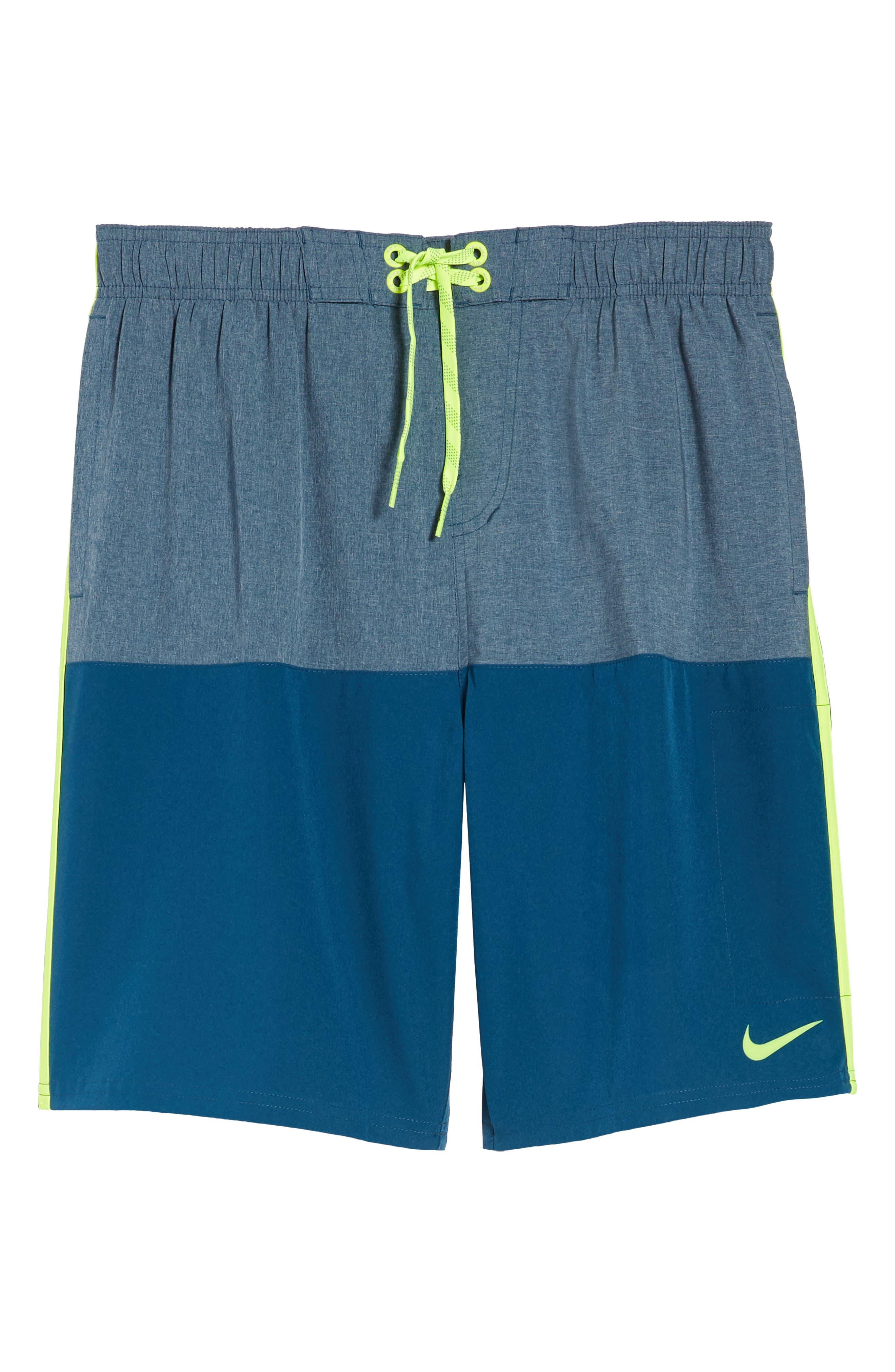 Split Board Shorts,                             Alternate thumbnail 6, color,                             Blue Force