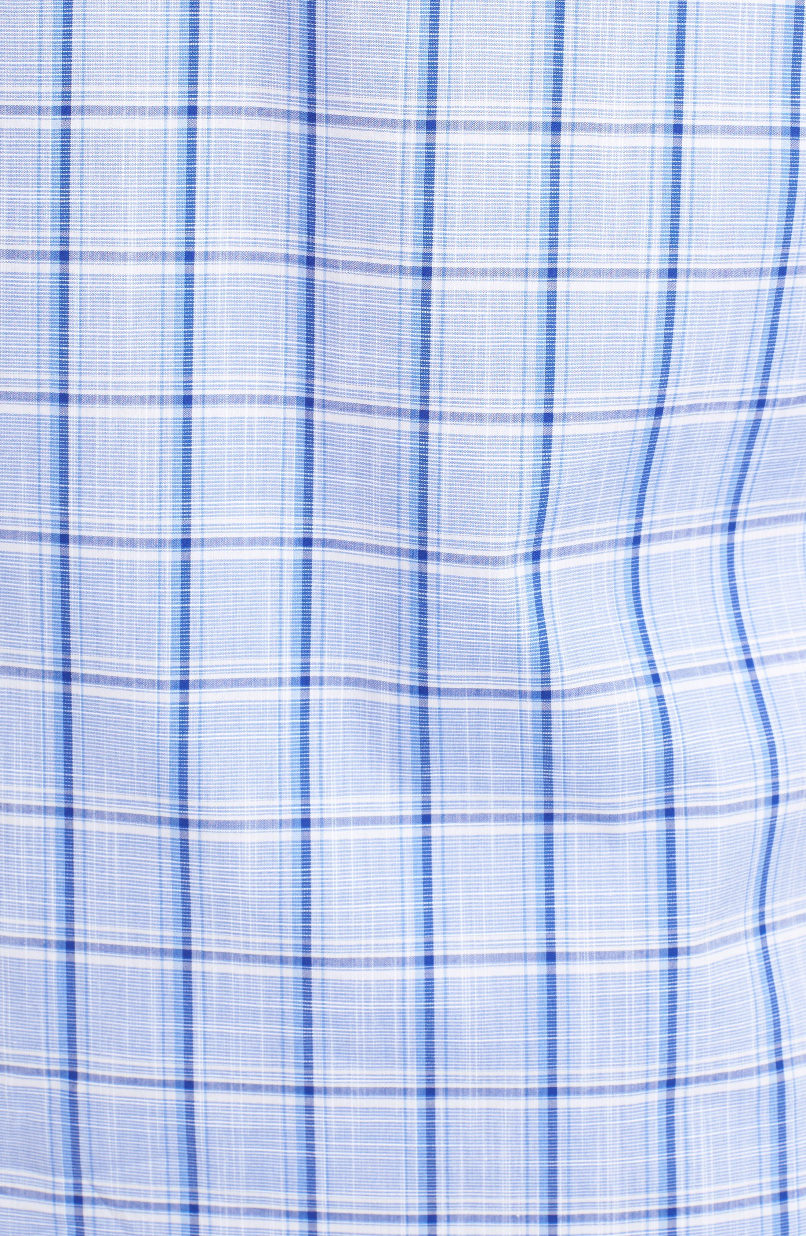 Alternate Image 5  - Zachary Prell Washington Plaid Sport Shirt