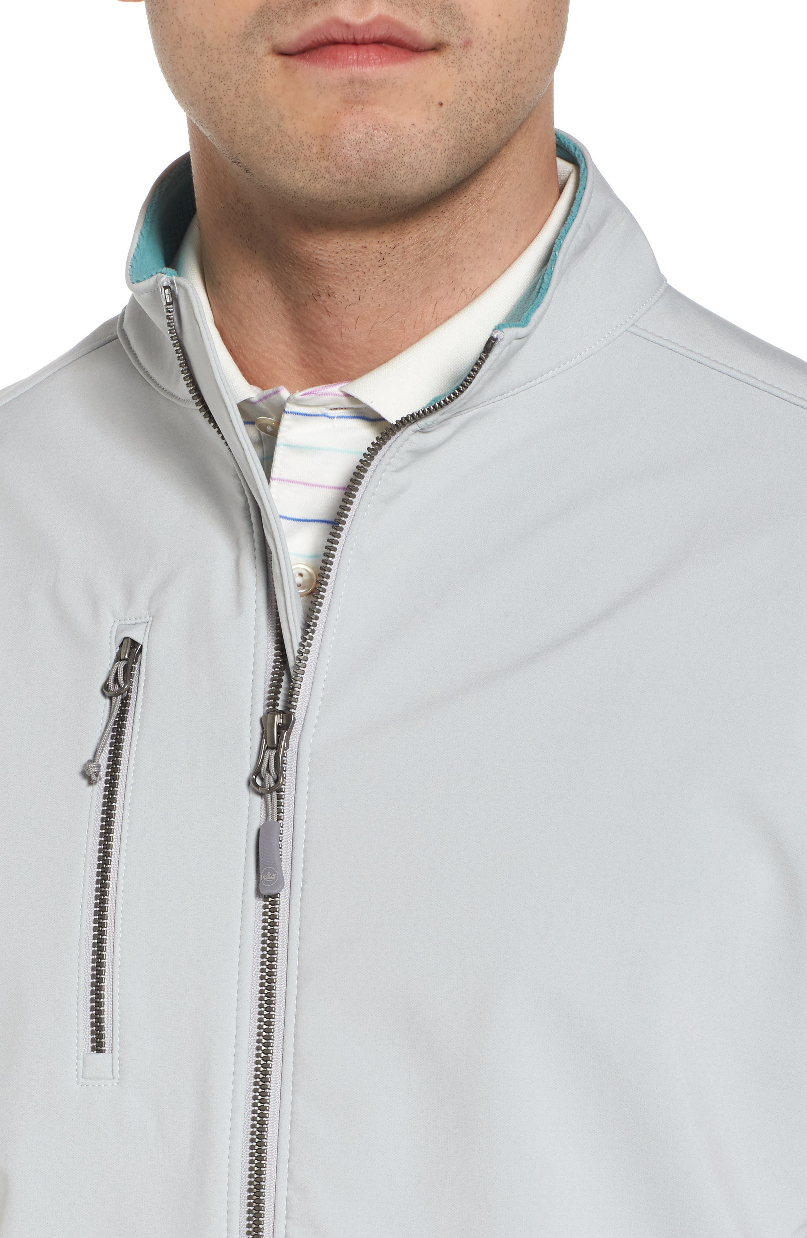Anchorage 3-Layer Soft Shell Jacket,                             Alternate thumbnail 4, color,                             British Grey