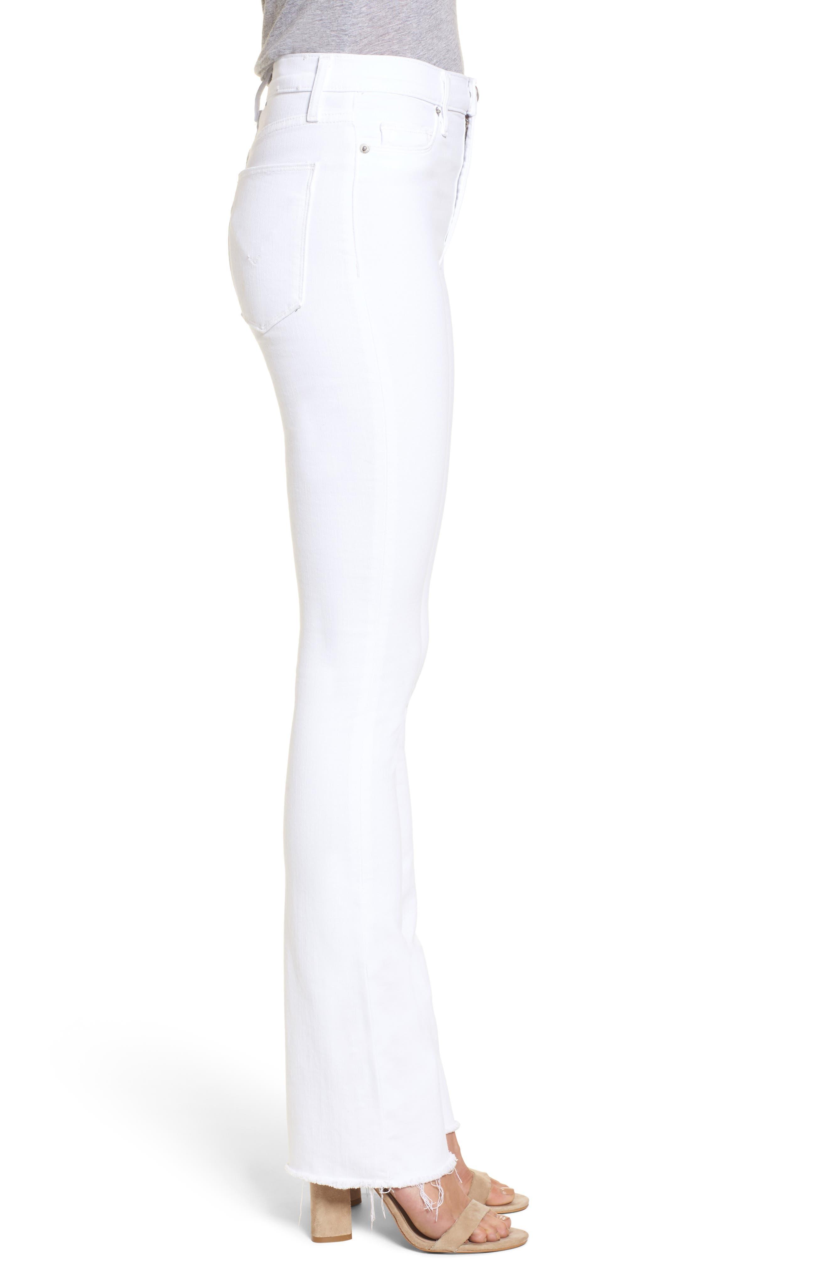 Alternate Image 3  - Hudson Jeans Heartbreaker High Waist Bootcut Jeans (Optical White)