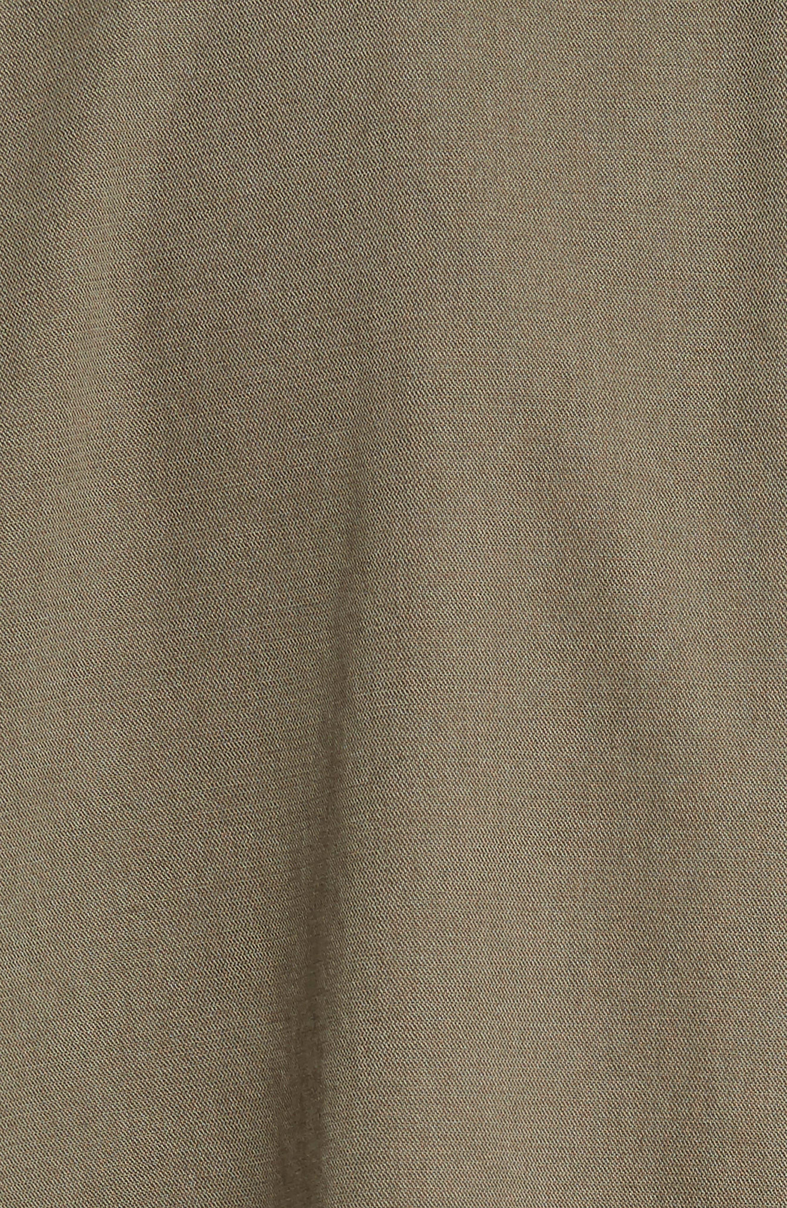 Longline Twill Jacket,                             Alternate thumbnail 6, color,                             Cargo