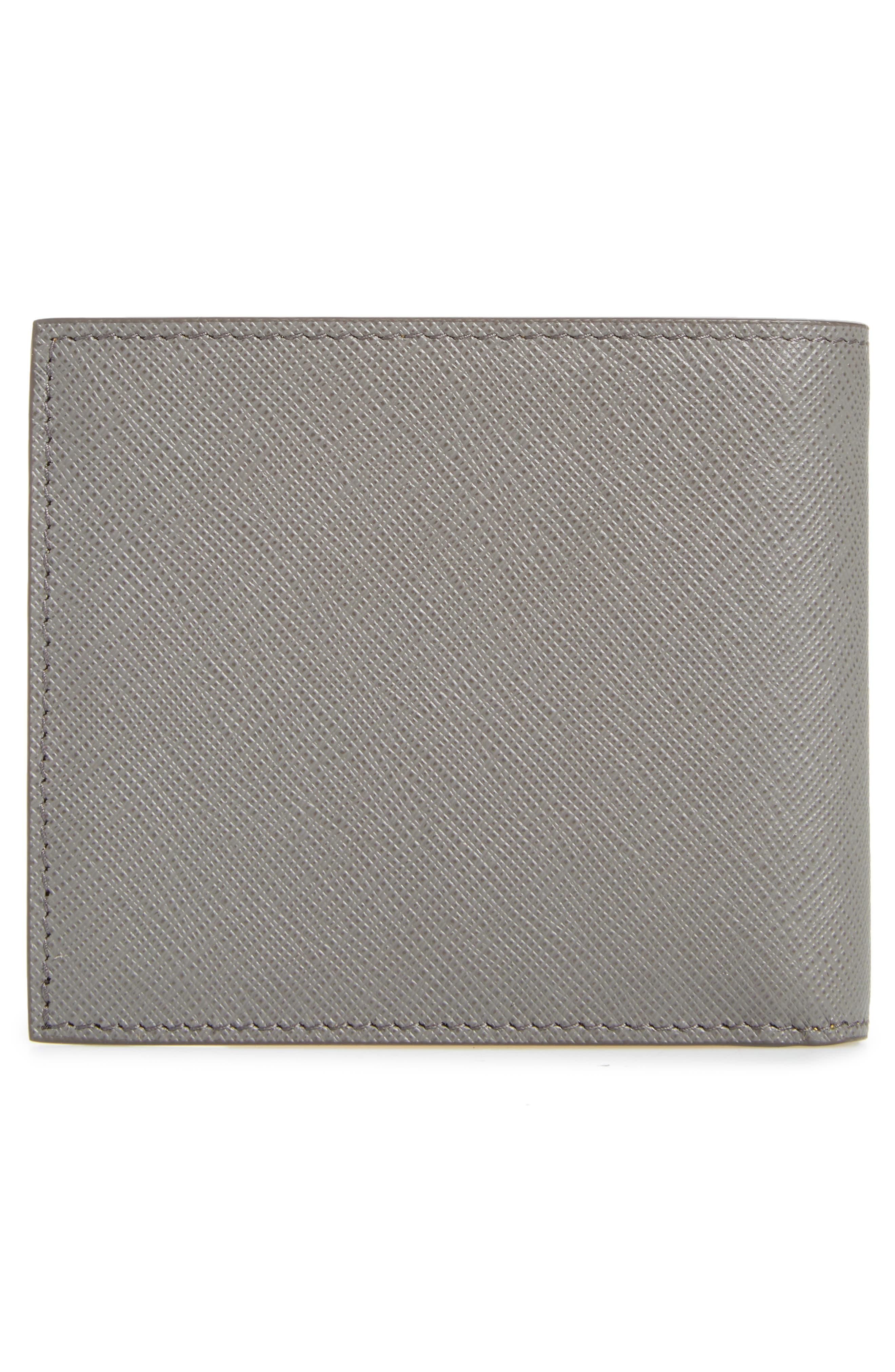 Alternate Image 3  - Prada Bicolor Leather Wallet
