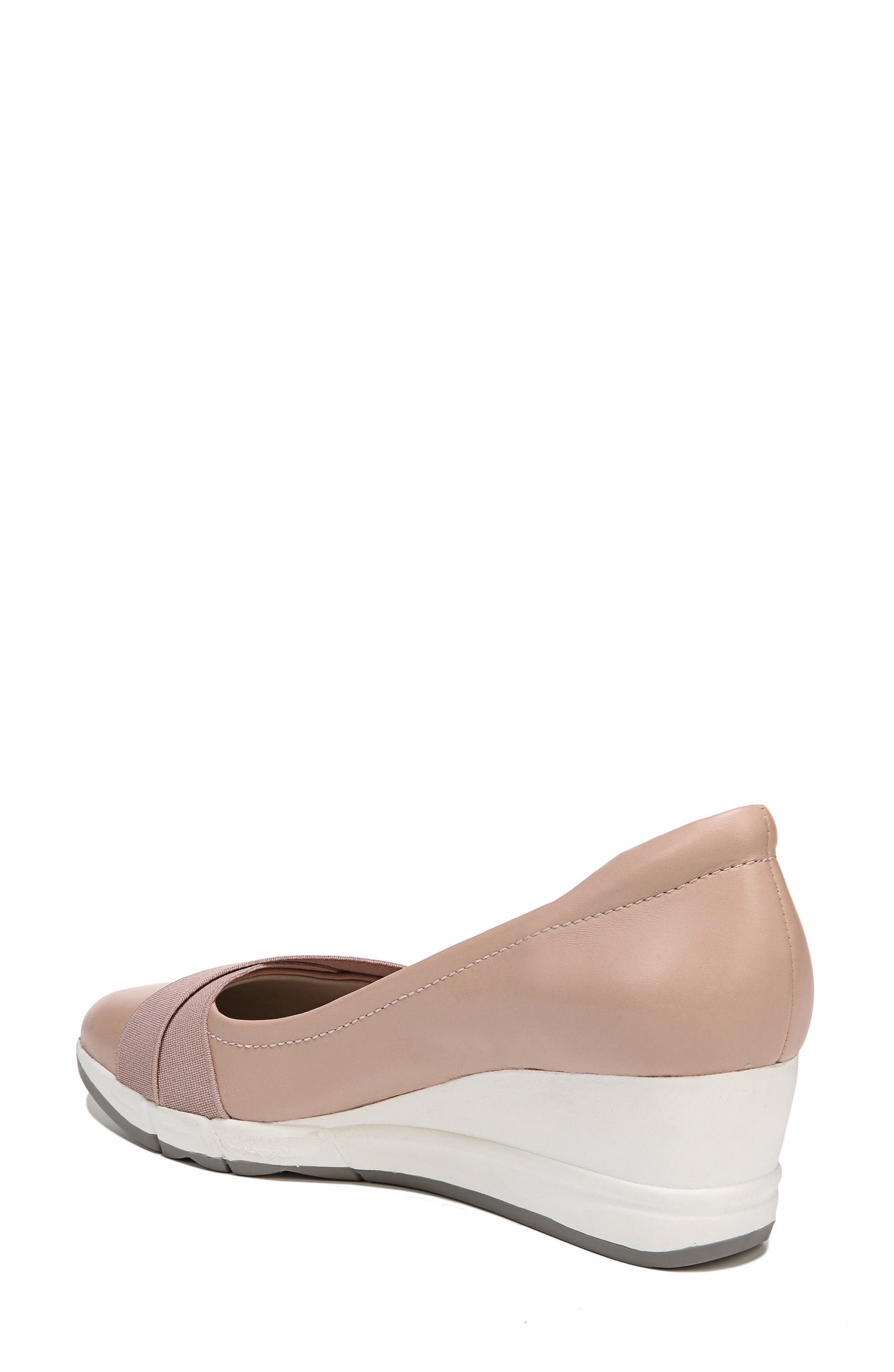 Harlyn Wedge Pump,                             Alternate thumbnail 2, color,                             Mauve Leather