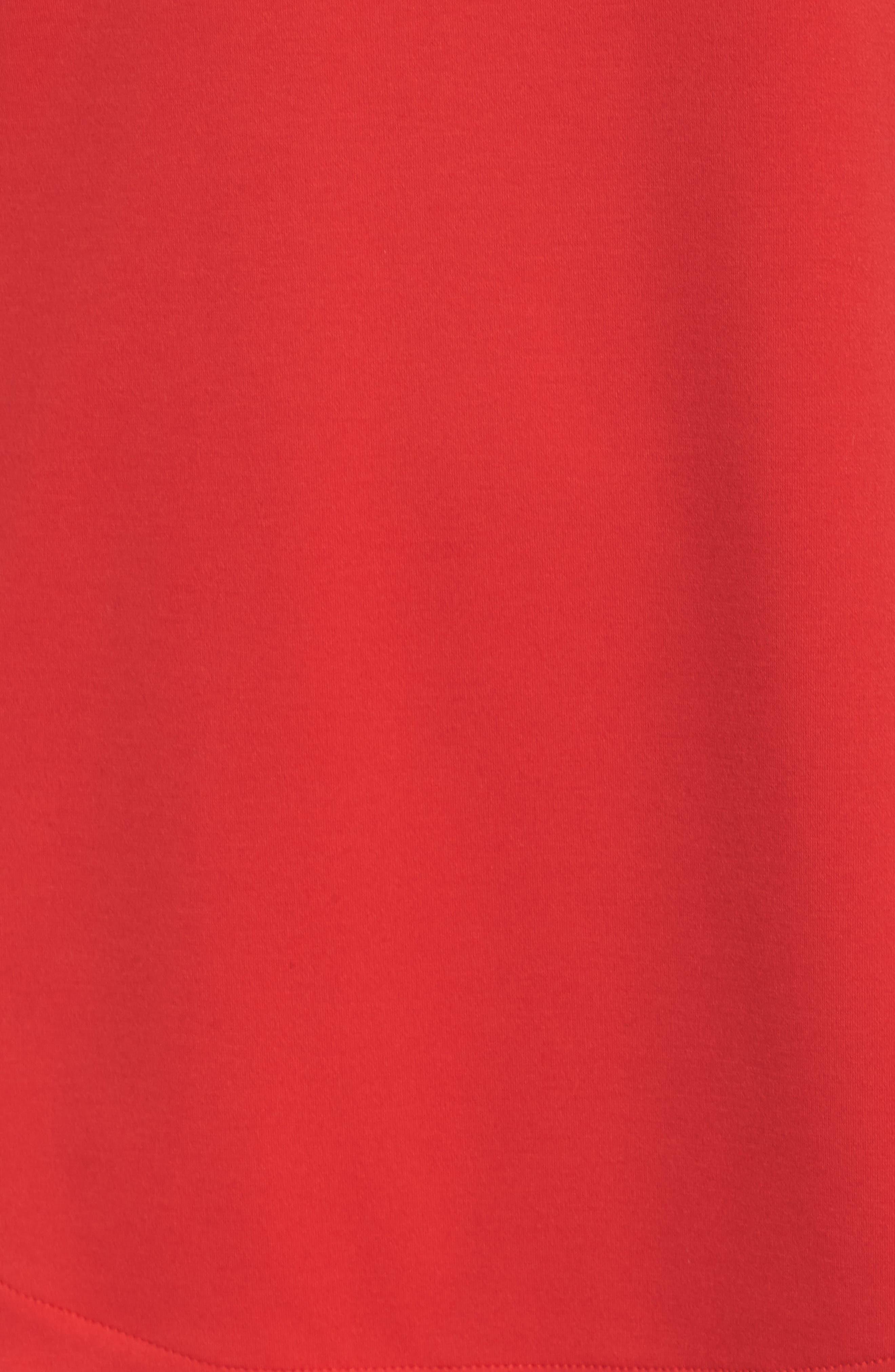 Athletics Pullover,                             Alternate thumbnail 5, color,                             Cerise