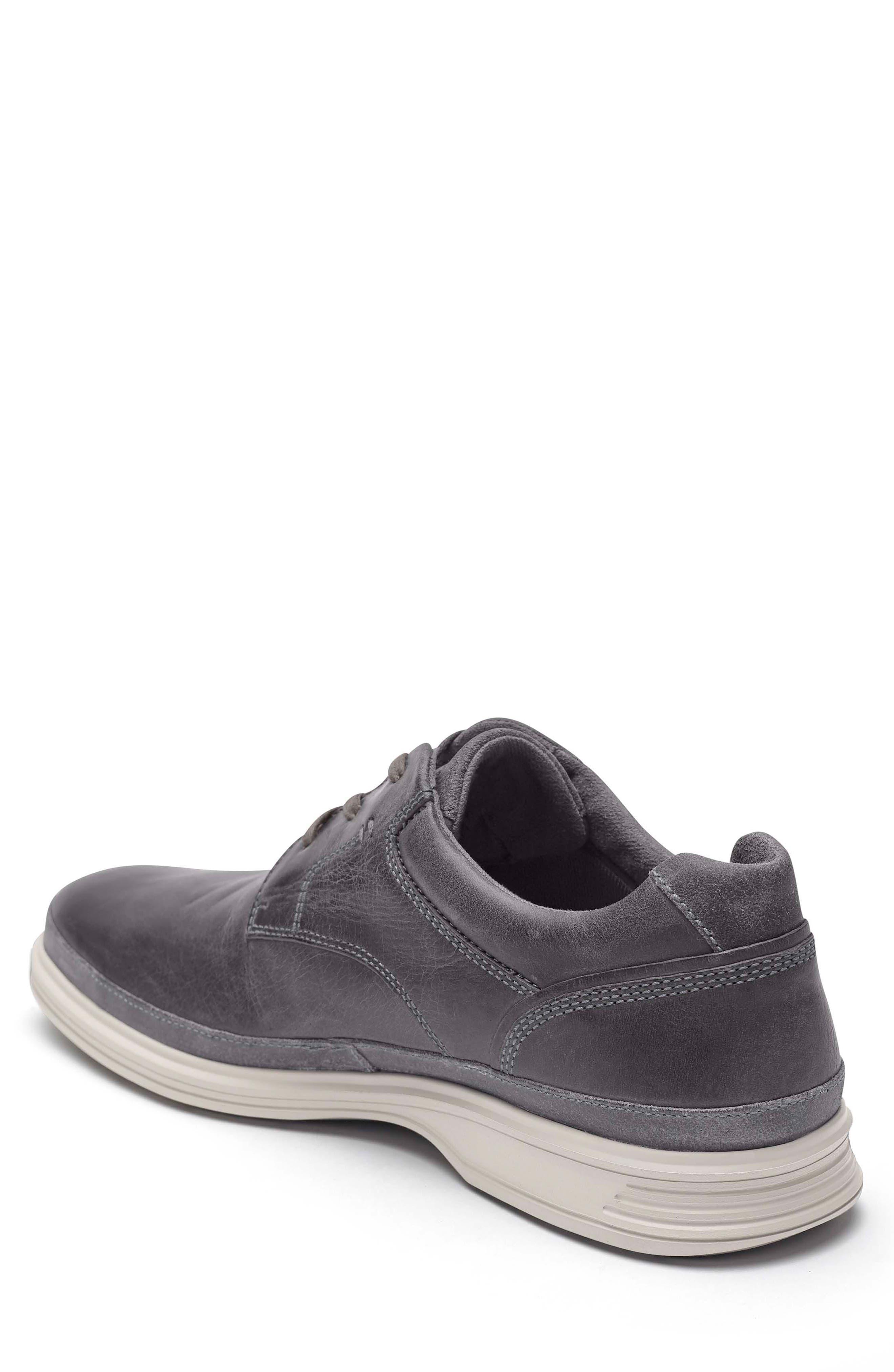Dressports 2 Go Plain Toe Derby,                             Alternate thumbnail 2, color,                             Grey Leather