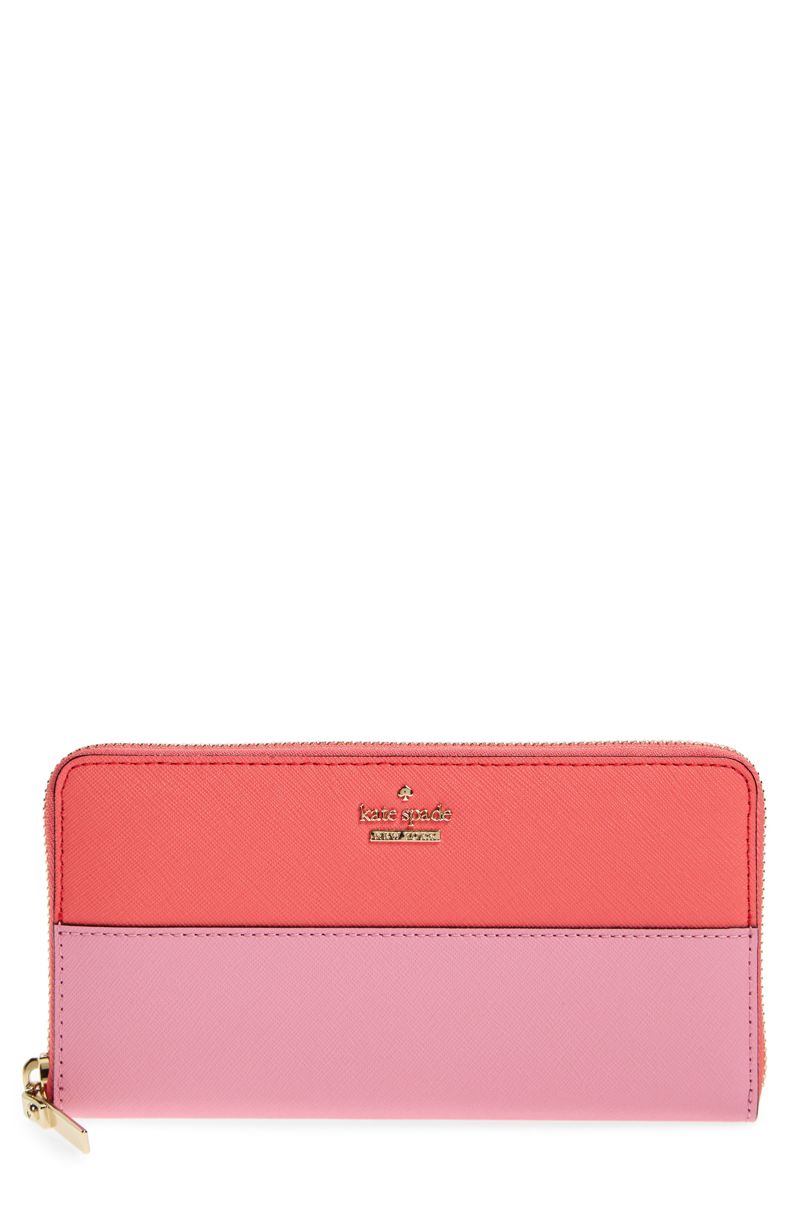 kate spade new york 'cameron street - lacey' leather wallet