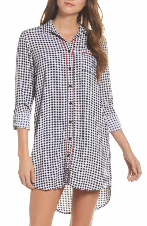 PJ Salvage Gingham Sleep Shirt Best Price