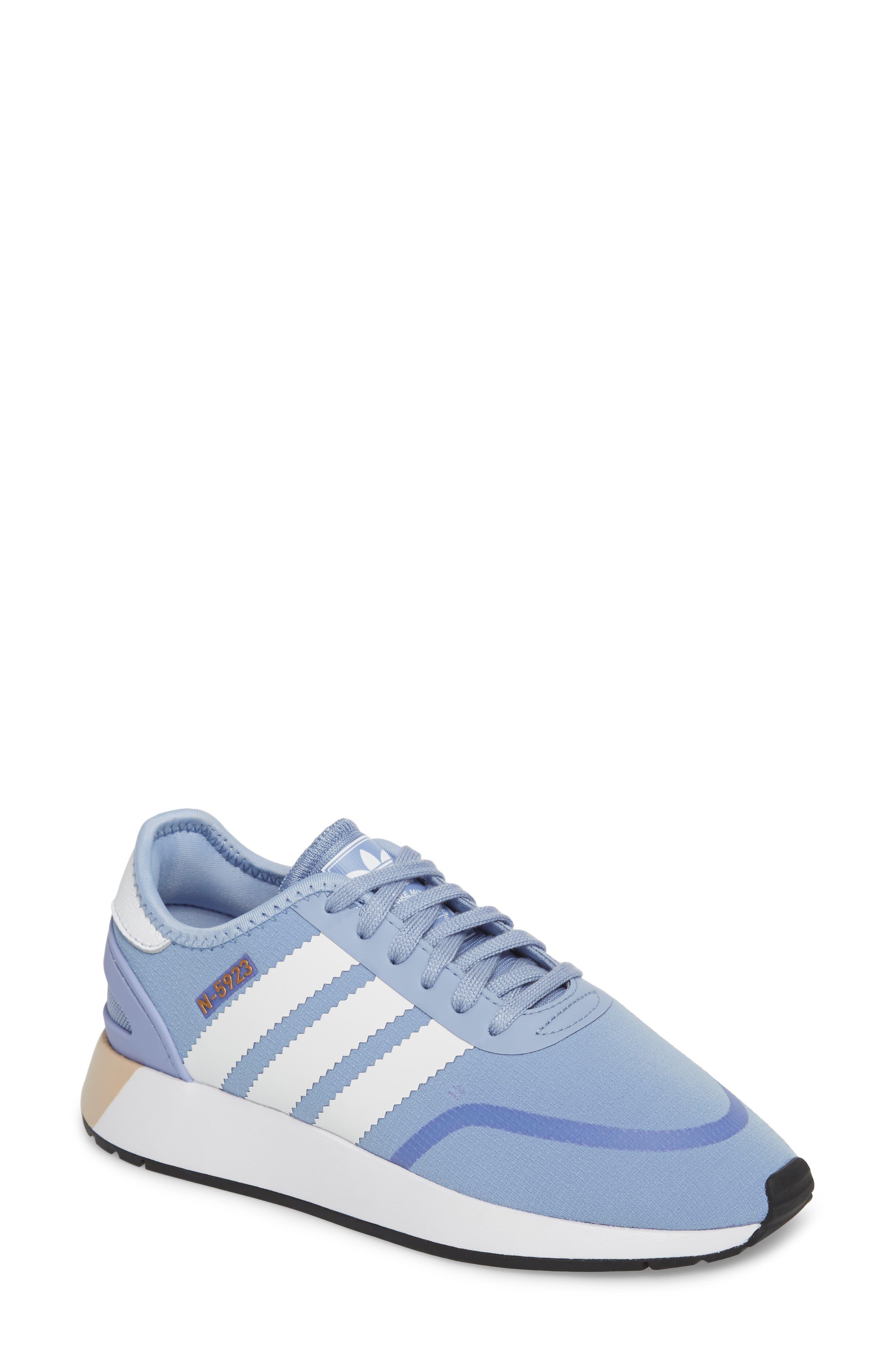 I-5923 Sneaker,                         Main,                         color, Chalk Blue/ White/ White