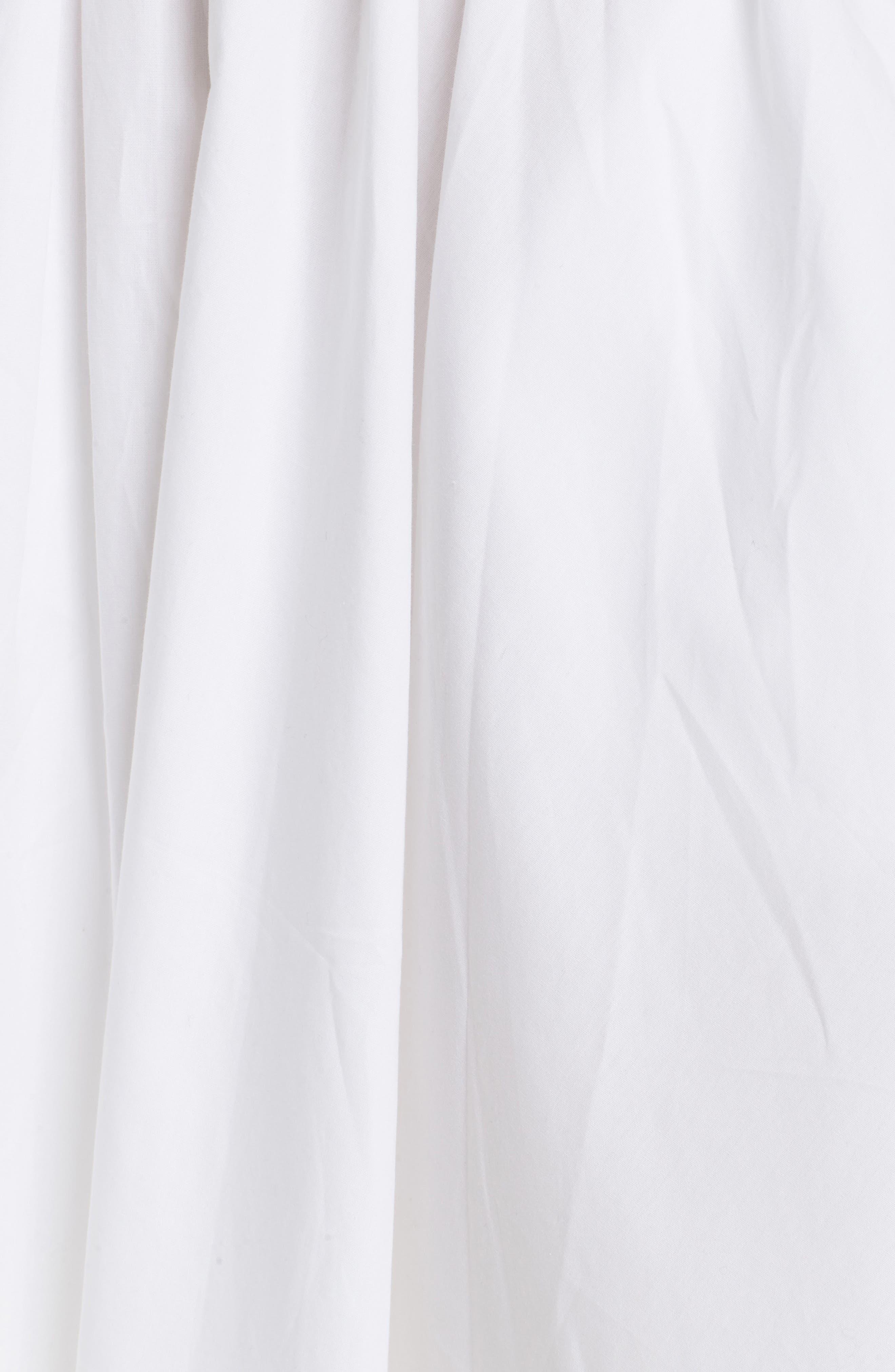 Half Moon Minidress,                             Alternate thumbnail 5, color,                             White