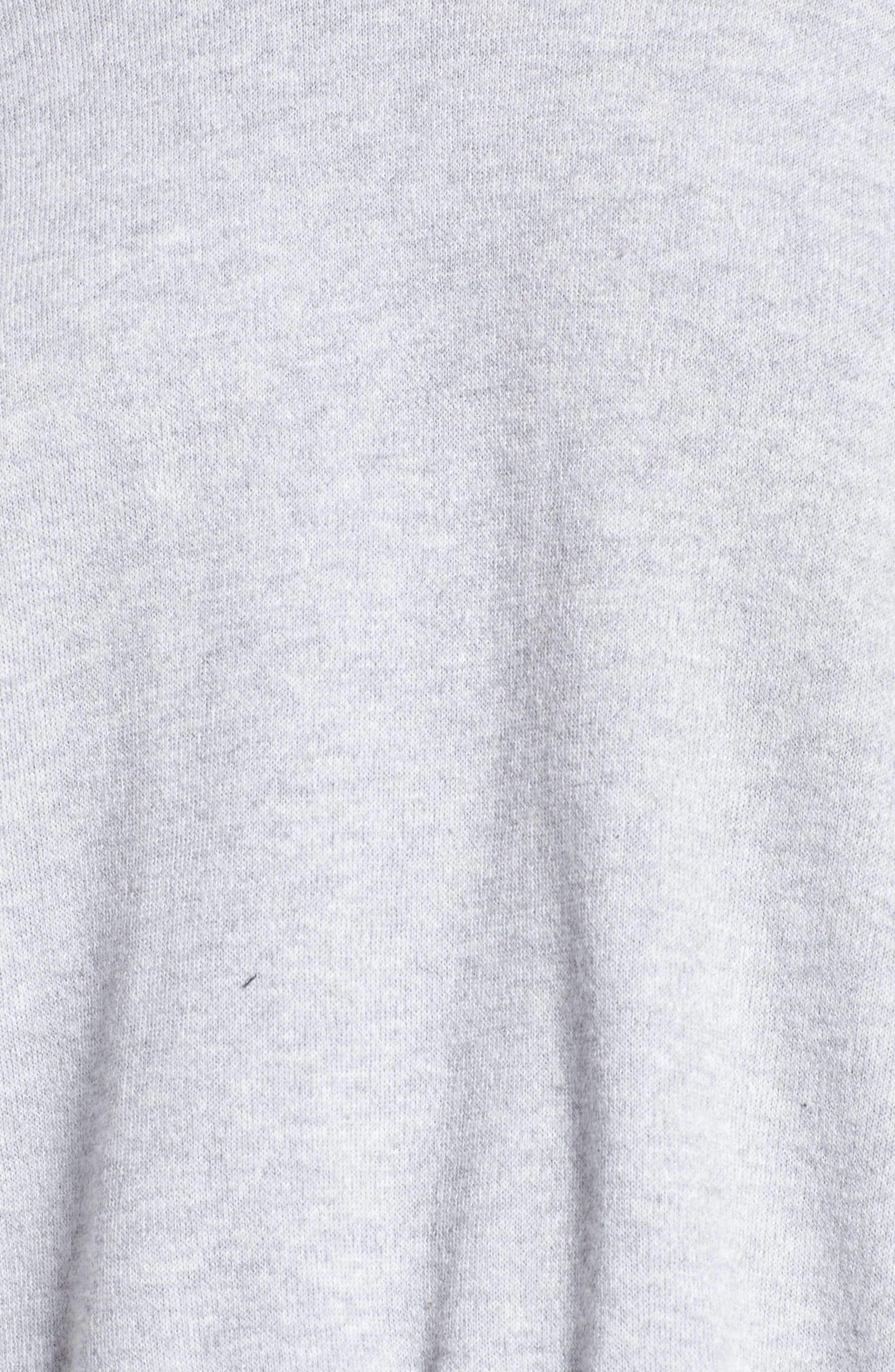 Lea Sweatshirt,                             Alternate thumbnail 5, color,                             Grey
