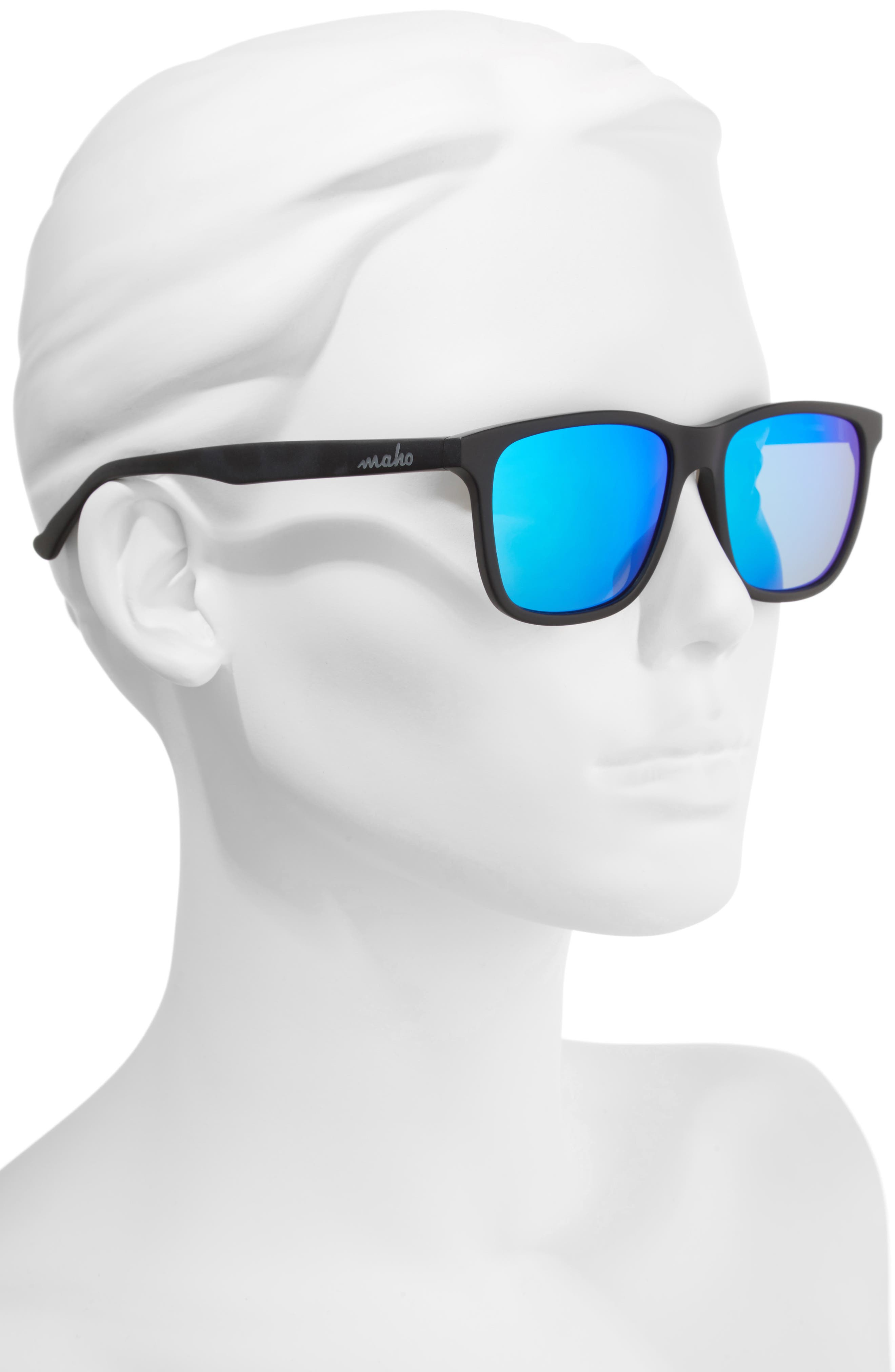 Uluwatu 52mm Polarized Sunglasses,                             Alternate thumbnail 2, color,                             Charcoal