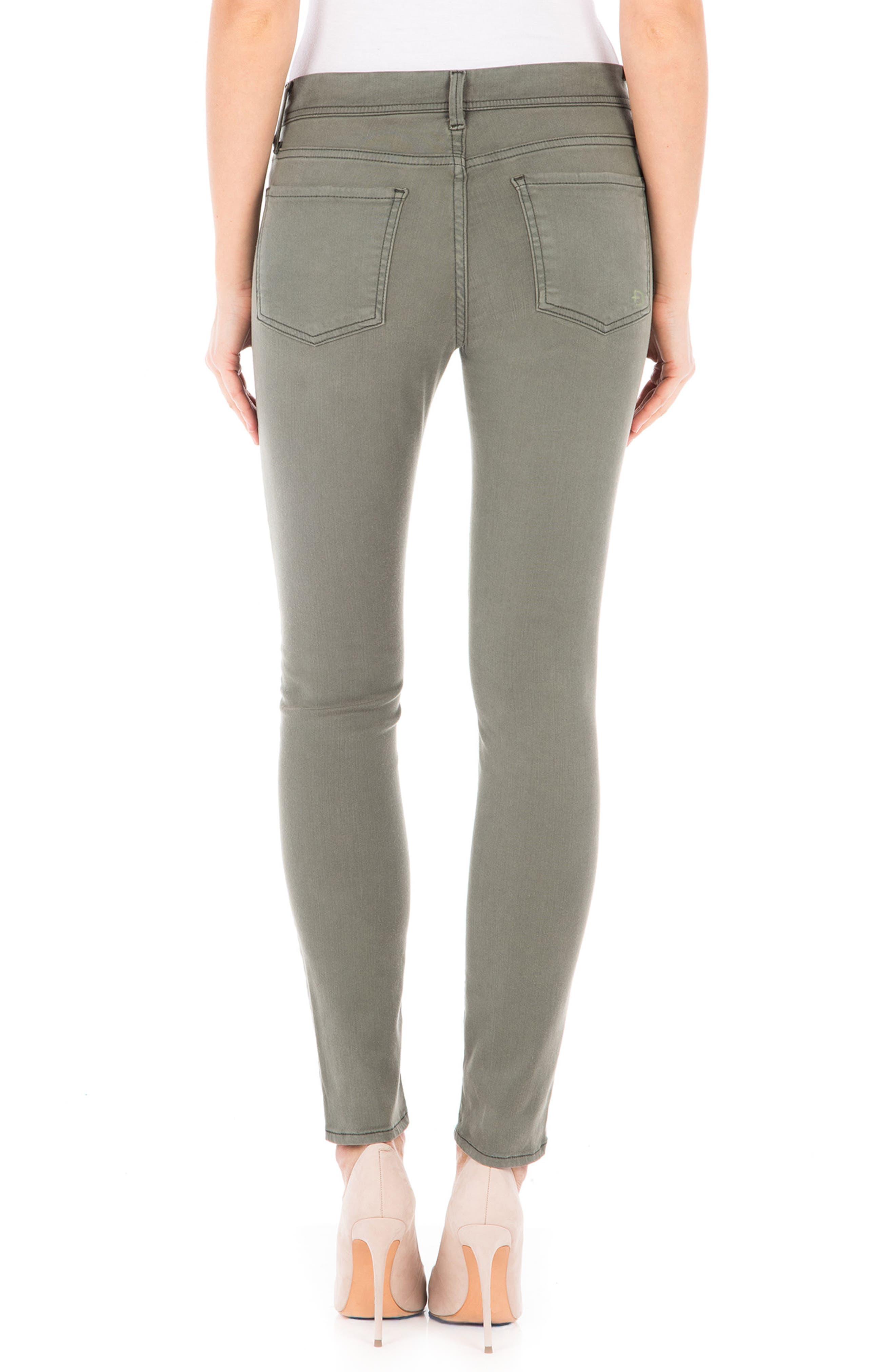 Sola Skinny Jeans,                             Alternate thumbnail 2, color,                             Pistachio