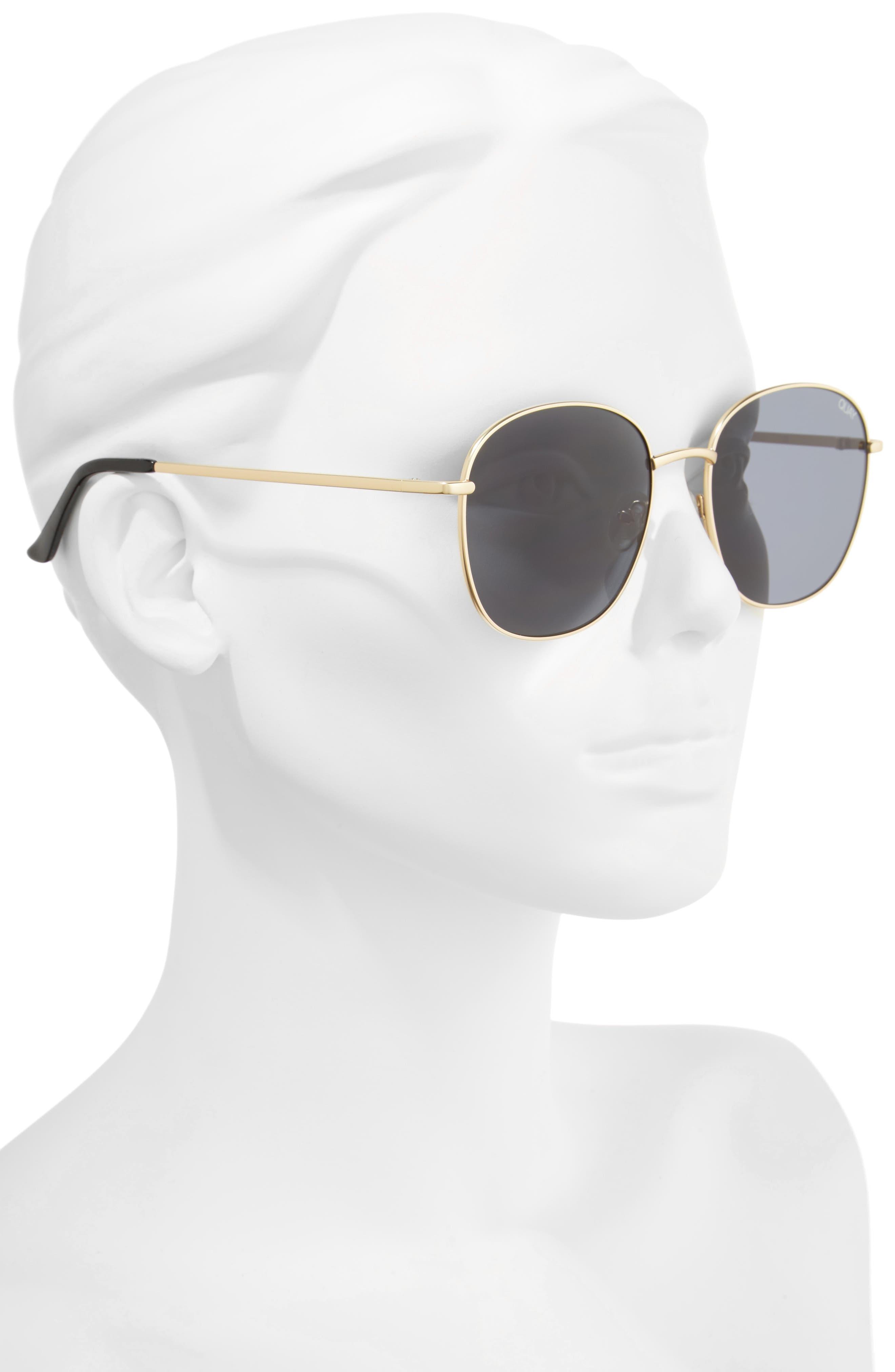 Alternate Image 6  - Quay Australia Jezabell 57mm Round Sunglasses