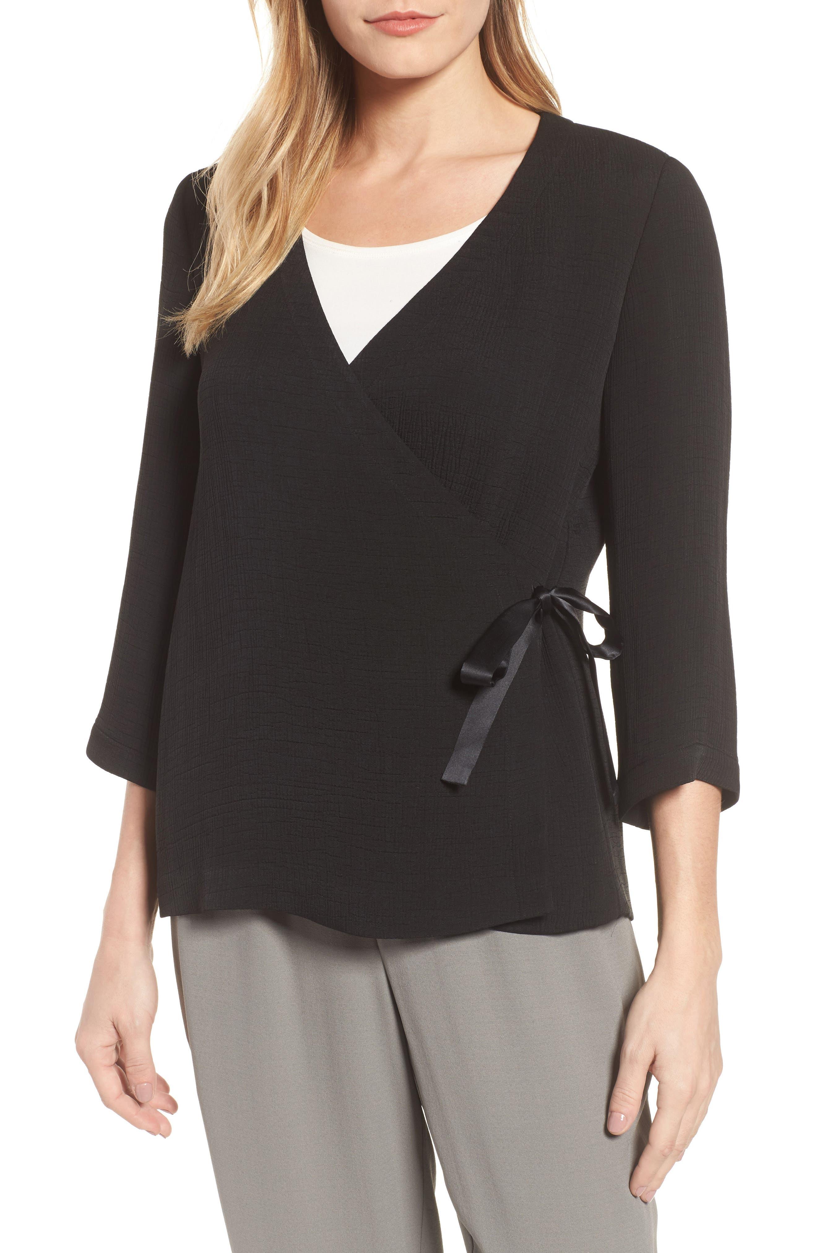 Eileen Fisher Kimono Top (Regular & Petite)