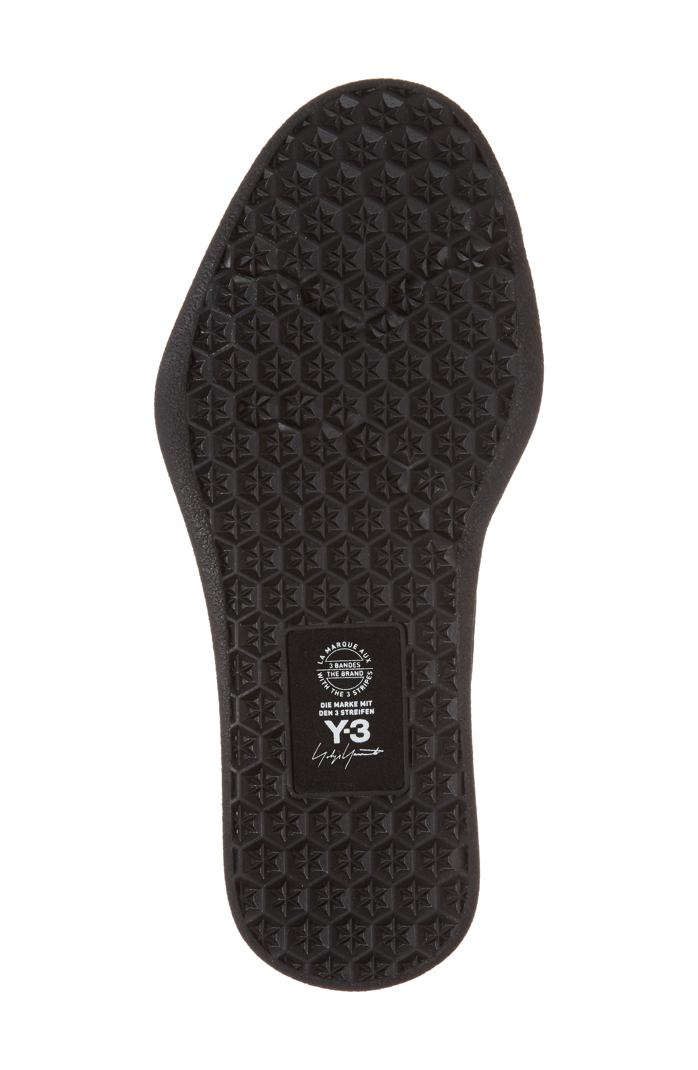 x adidas Bashyo High Top Sneaker,                             Alternate thumbnail 6, color,                             Black