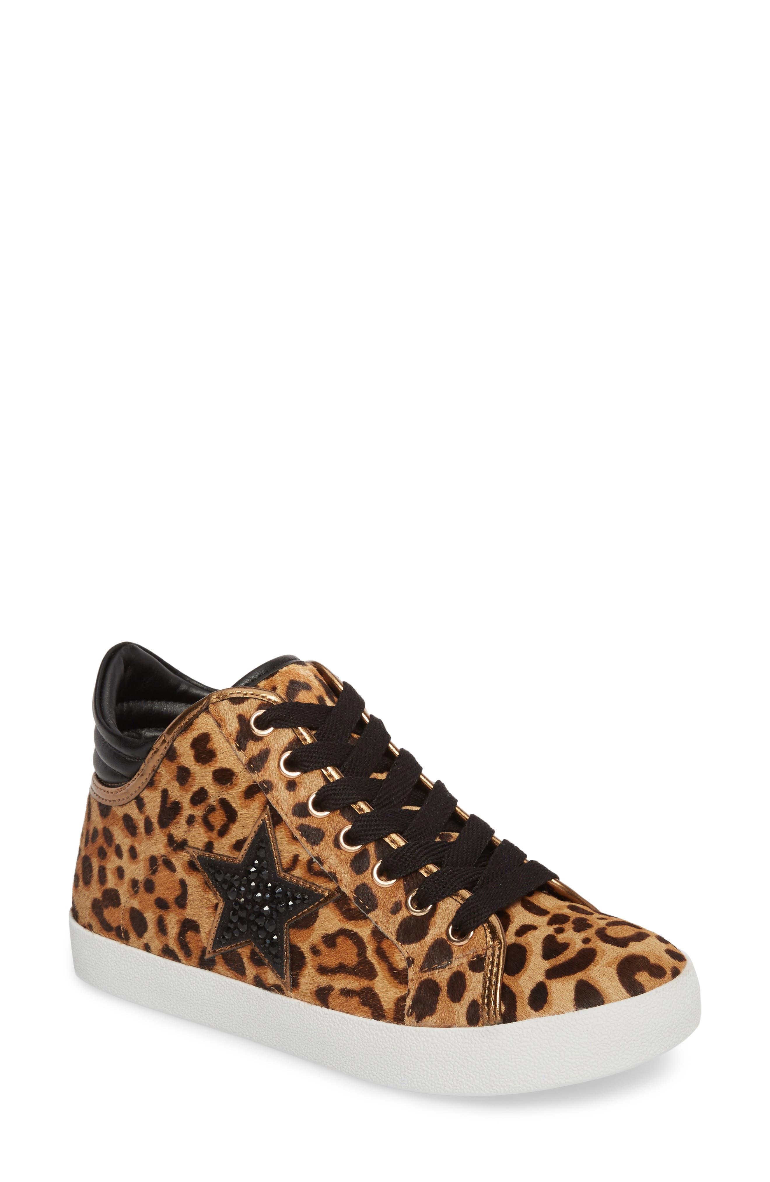Savior Star Sneaker,                             Main thumbnail 1, color,                             Leopard Multi