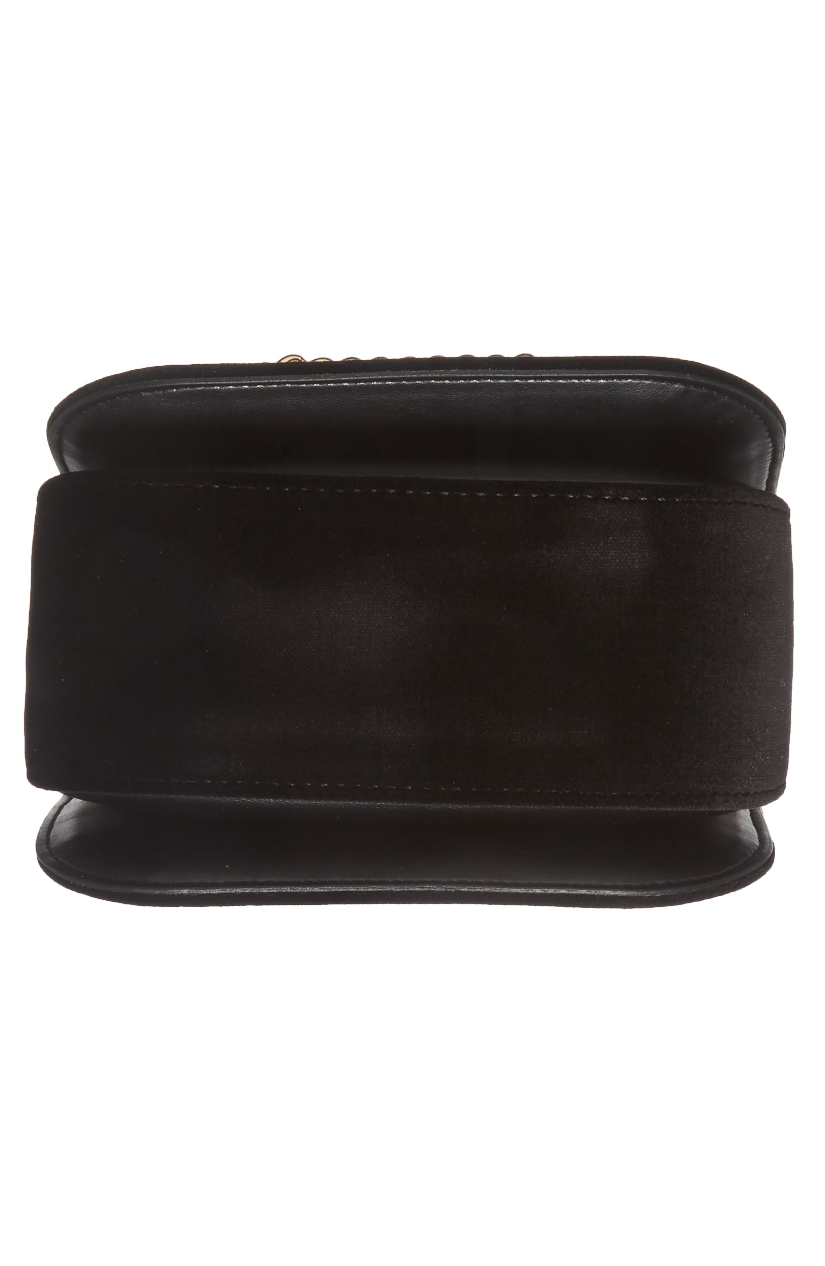 Alternate Image 6  - Stella McCartney Mini Falabella Box Velvet Shoulder Bag