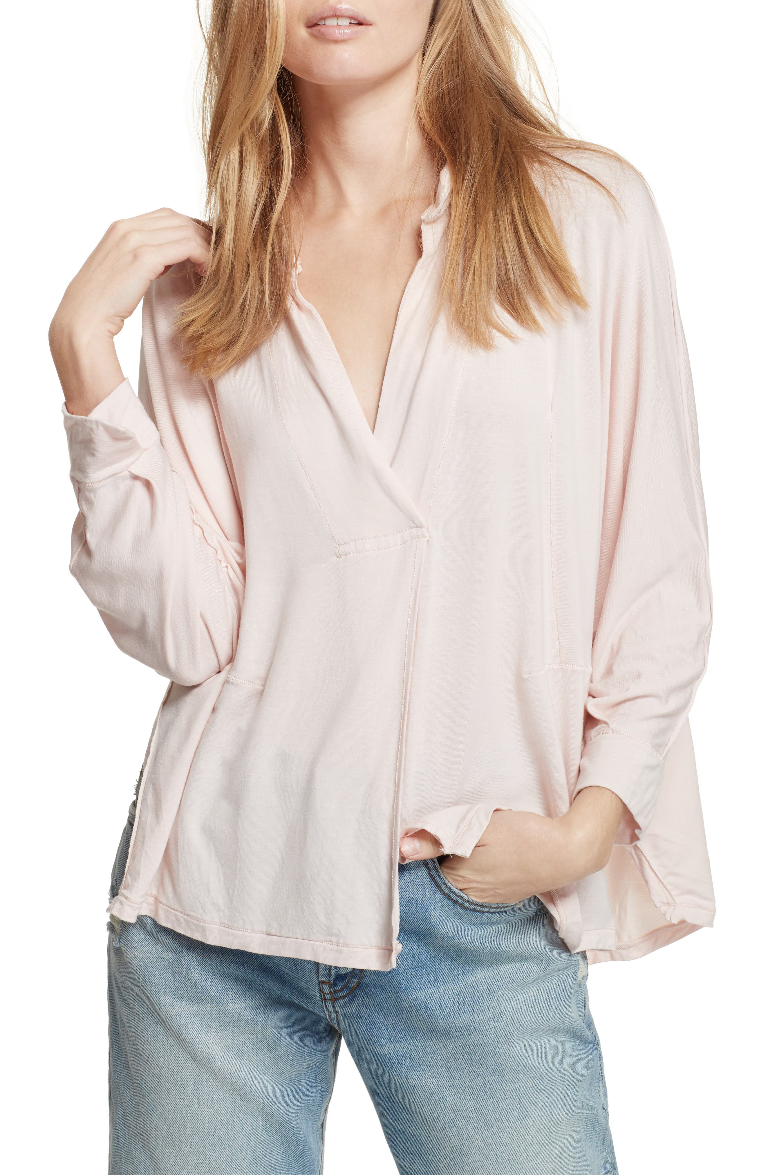 Can't Fool Me Top,                         Main,                         color, Peach