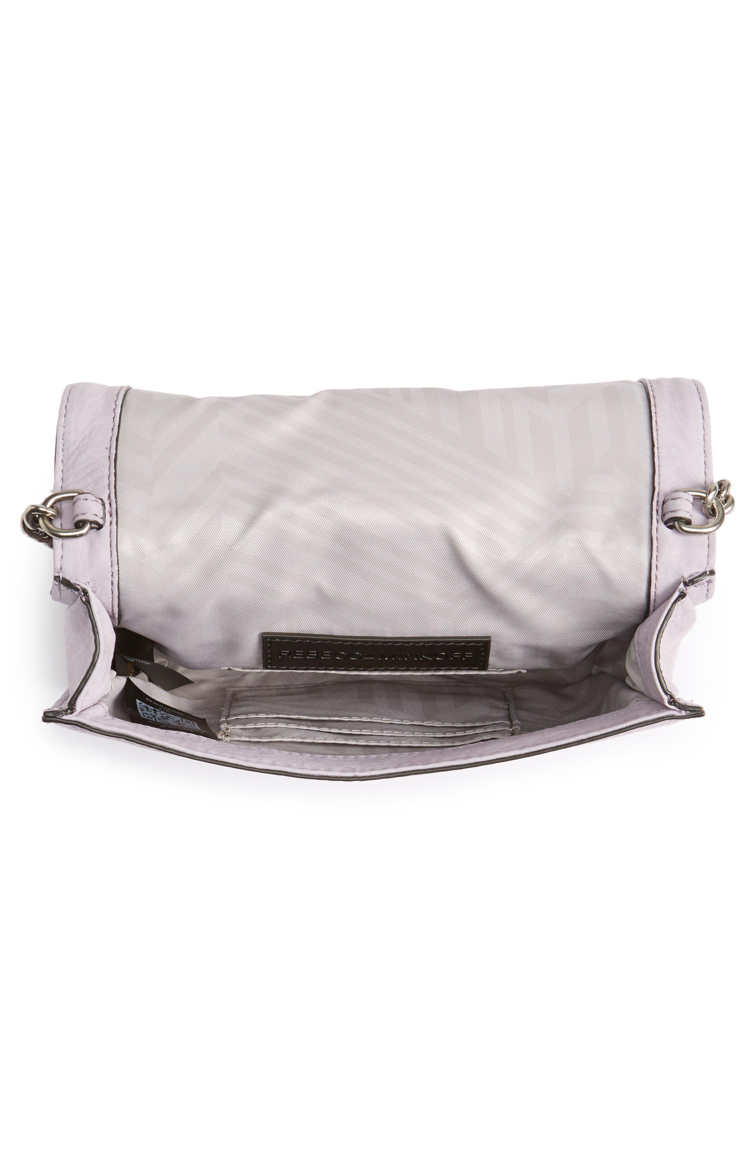 Alternate Image 4  - Rebecca Minkoff Love Nubuck Crossbody Bag