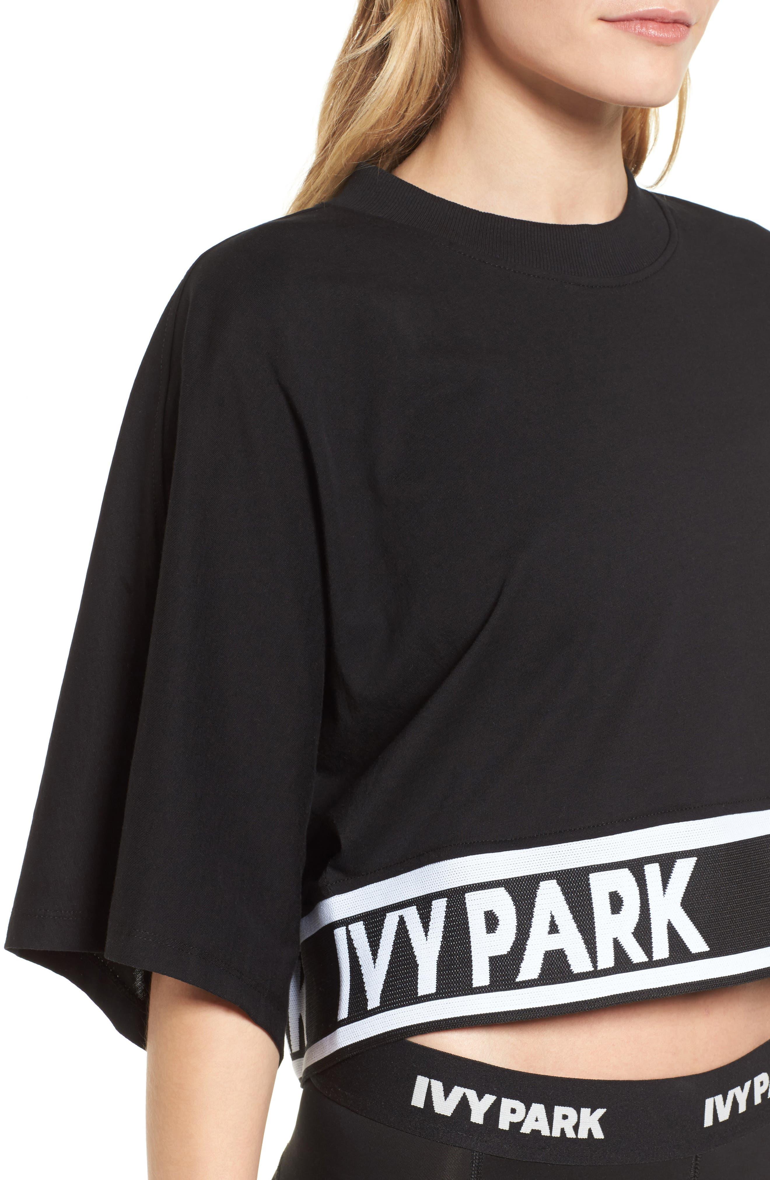 Alternate Image 4  - Ivy Park Logo Tape Boxy Tee