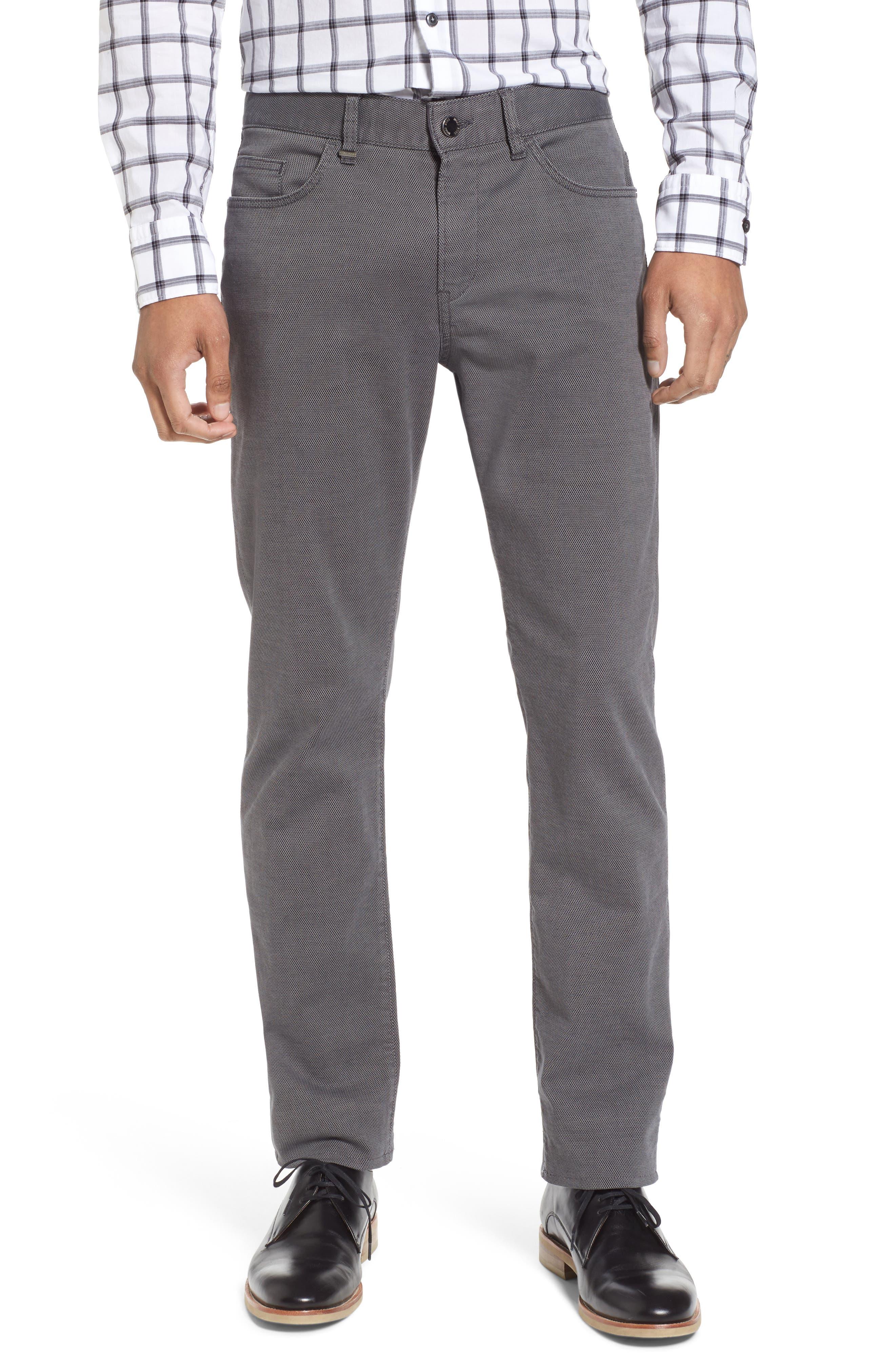 Delaware Slim Fit Structure Jeans,                             Main thumbnail 1, color,                             Grey