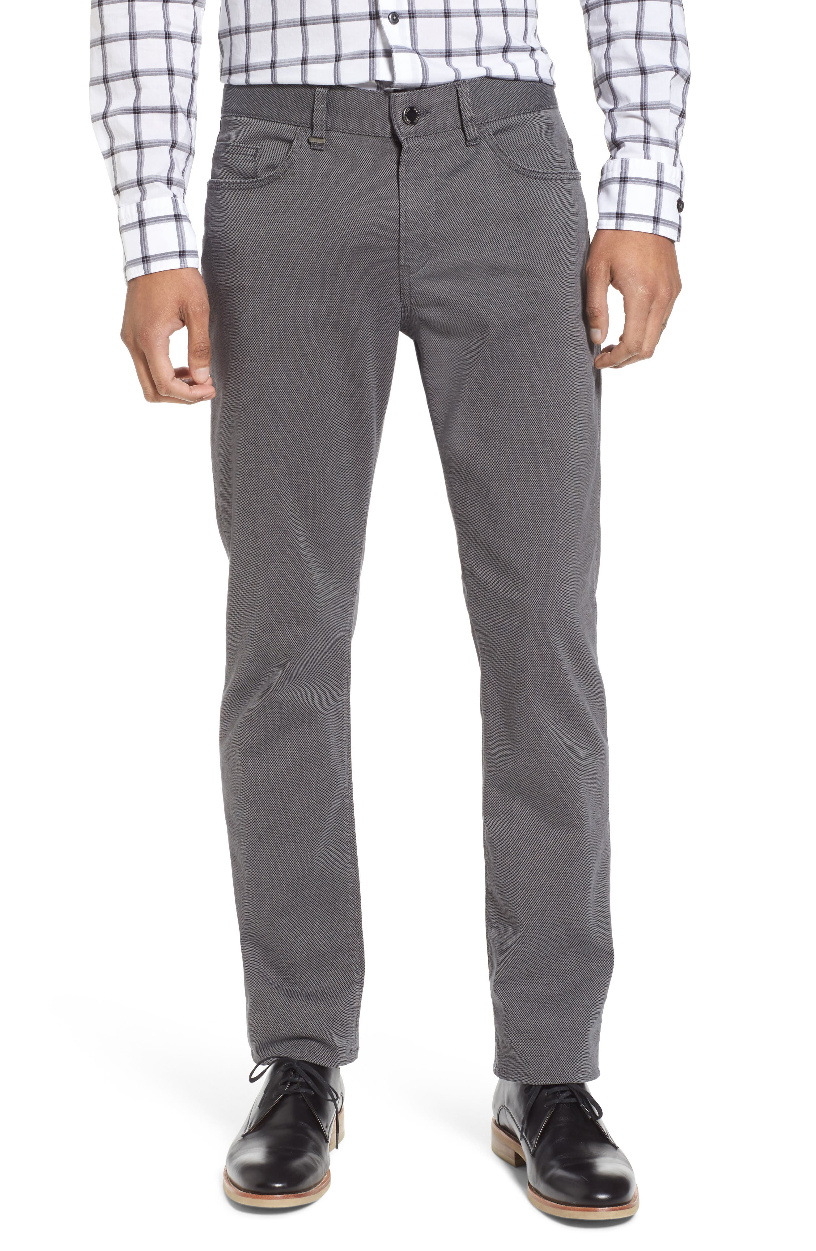 Delaware Slim Fit Structure Jeans,                         Main,                         color, Grey