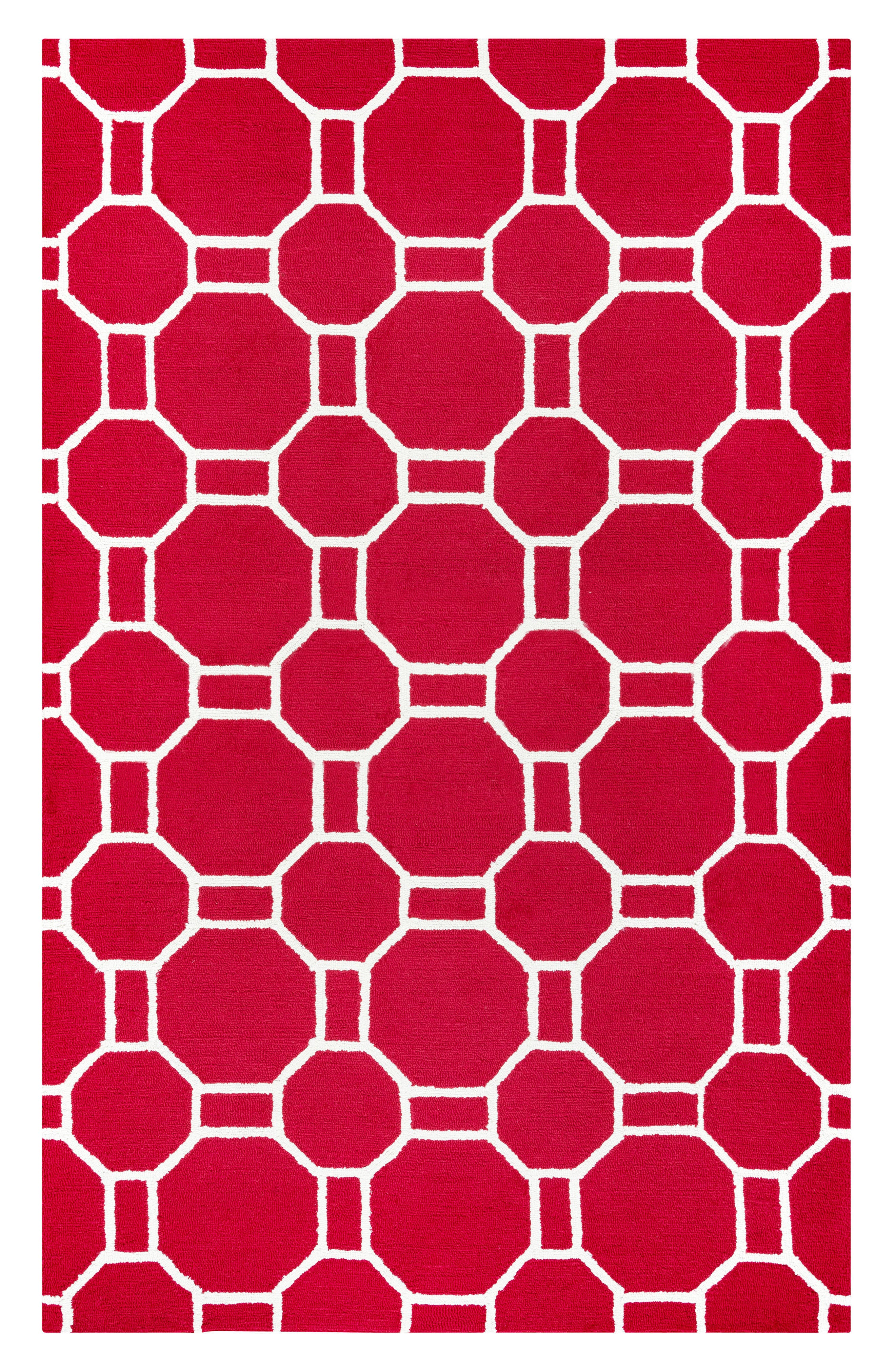 Azzura Hill Adrienna Rug,                             Main thumbnail 1, color,                             Red