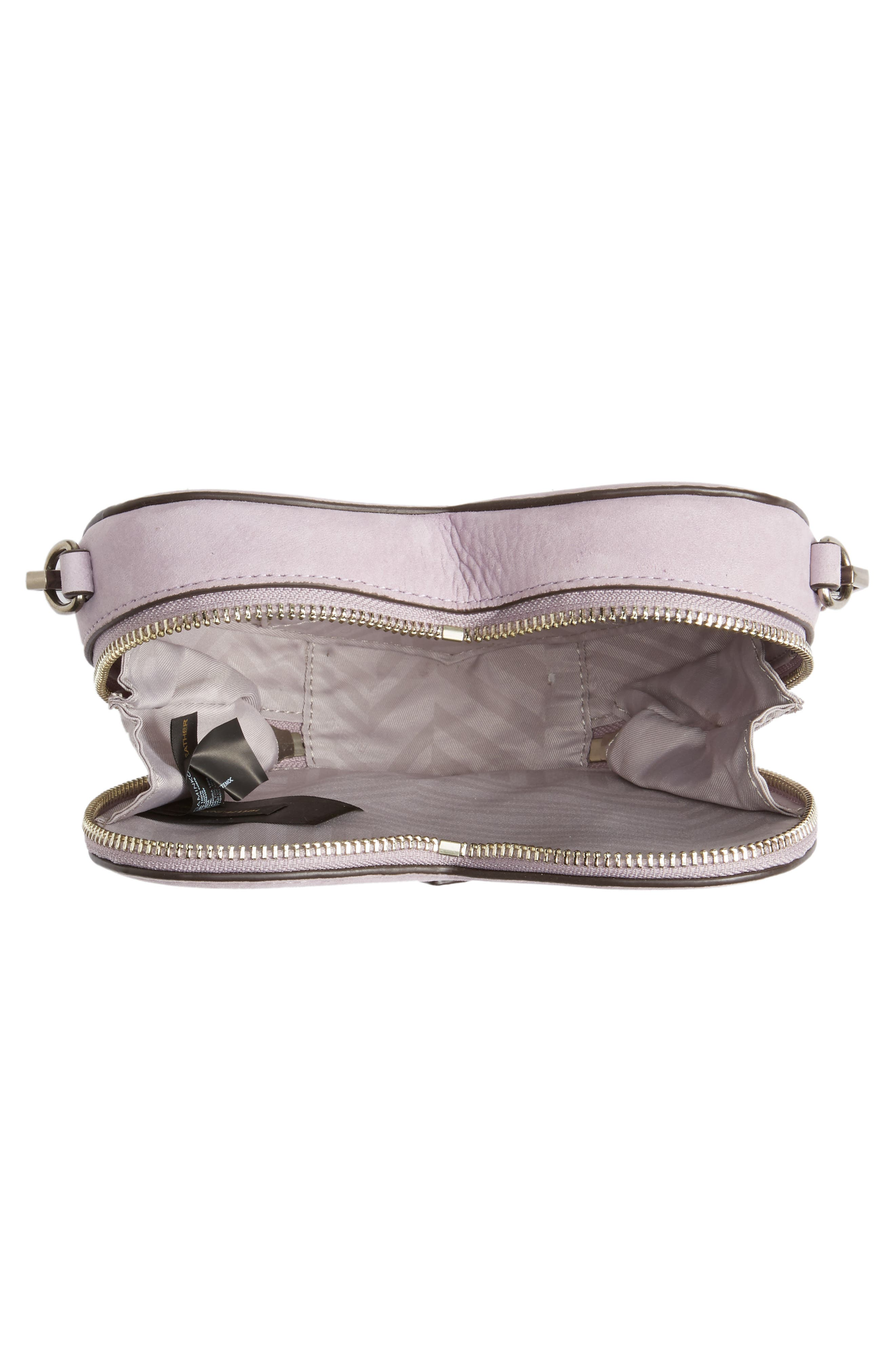 Alternate Image 4  - Rebecca Minkoff Jamie Heart Leather Crossbody Bag