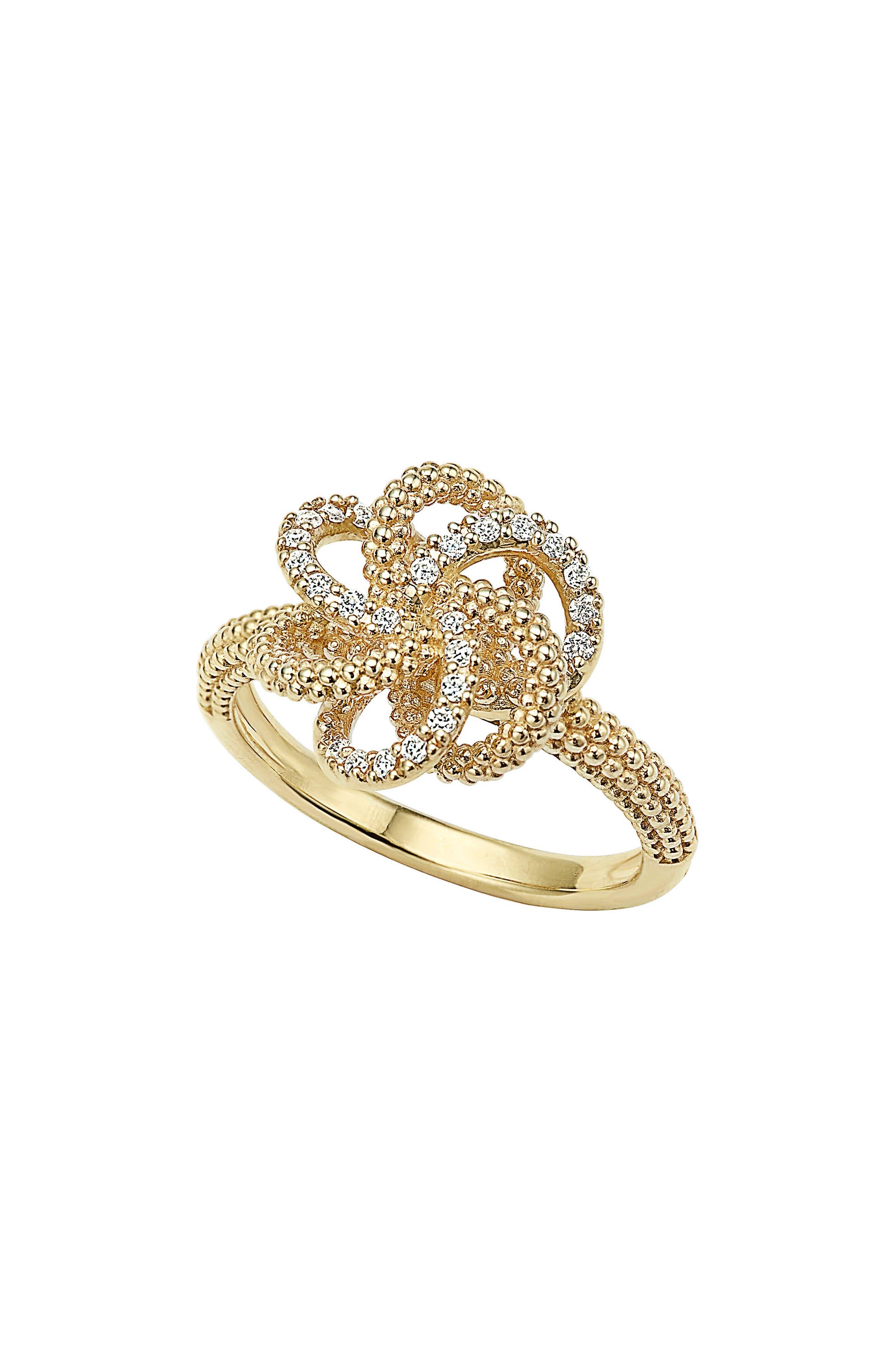 Main Image - LAGOS 'Love Knot' Diamond Ring
