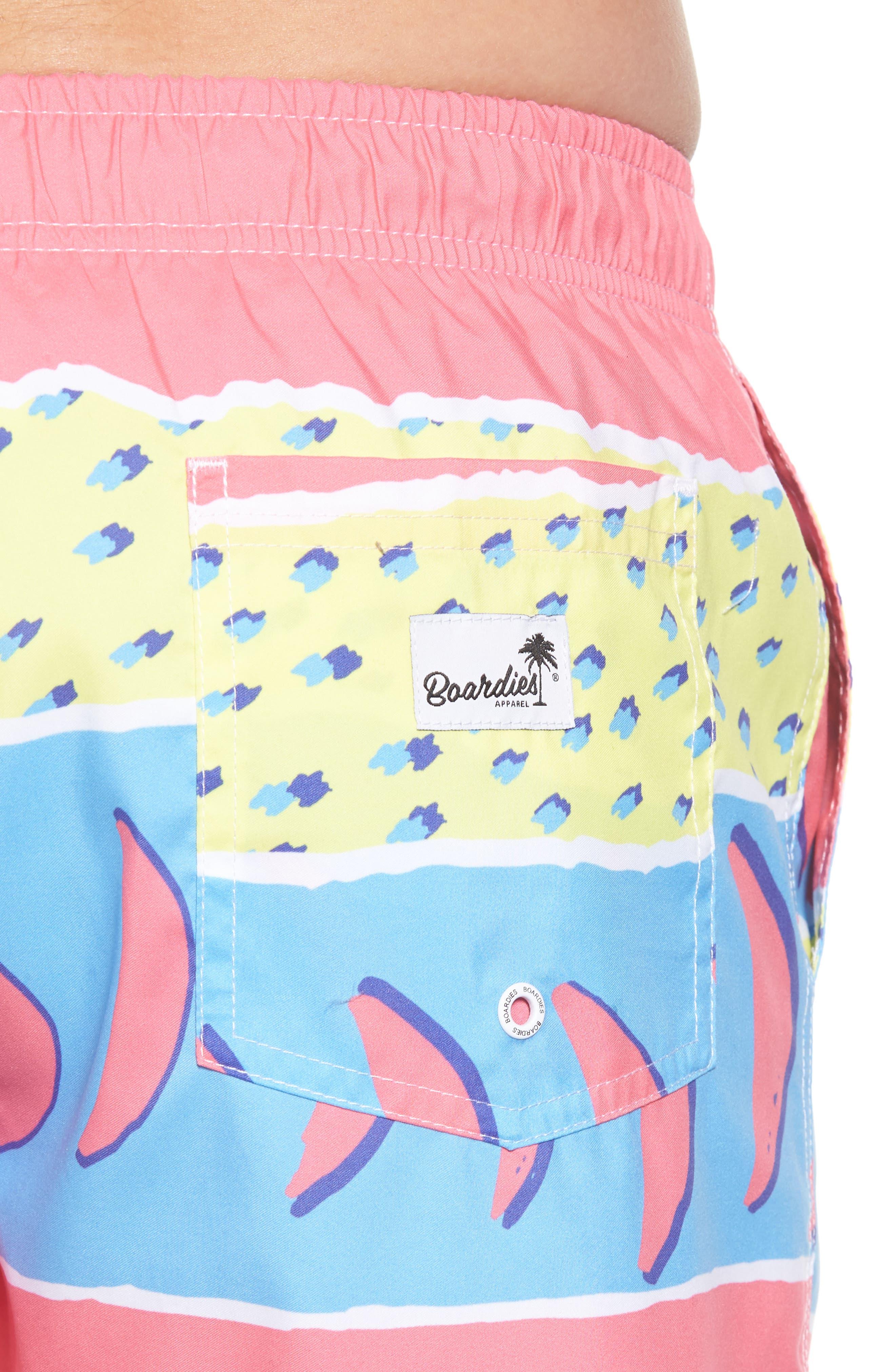 Fresh Prince Board Shorts,                             Alternate thumbnail 4, color,                             Multi