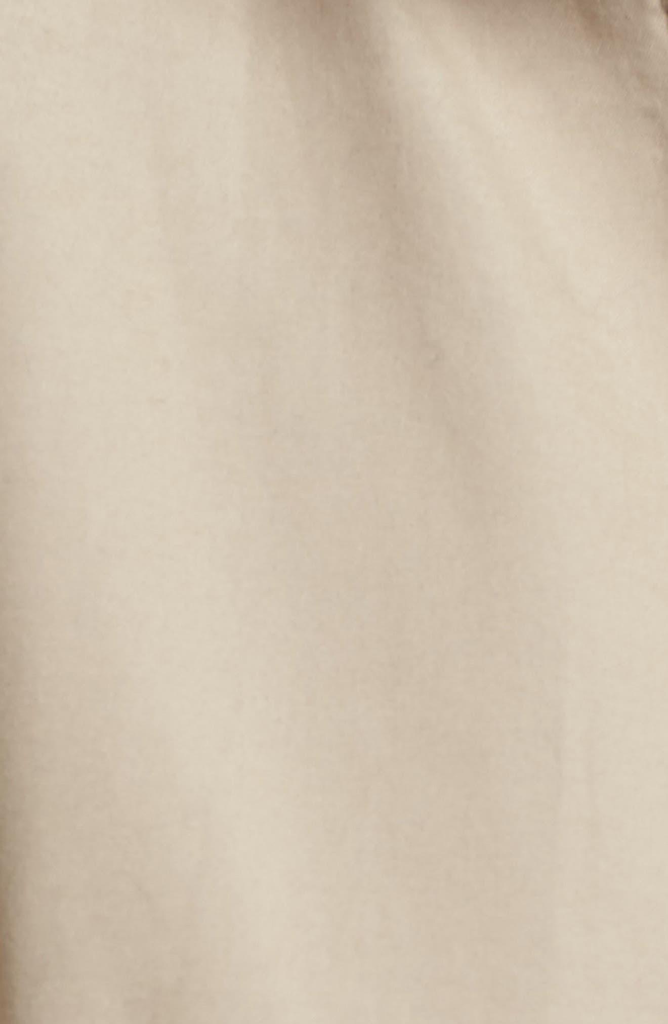Alternate Image 5  - Gallery Bell Sleeve Jacket with Stowaway Hood