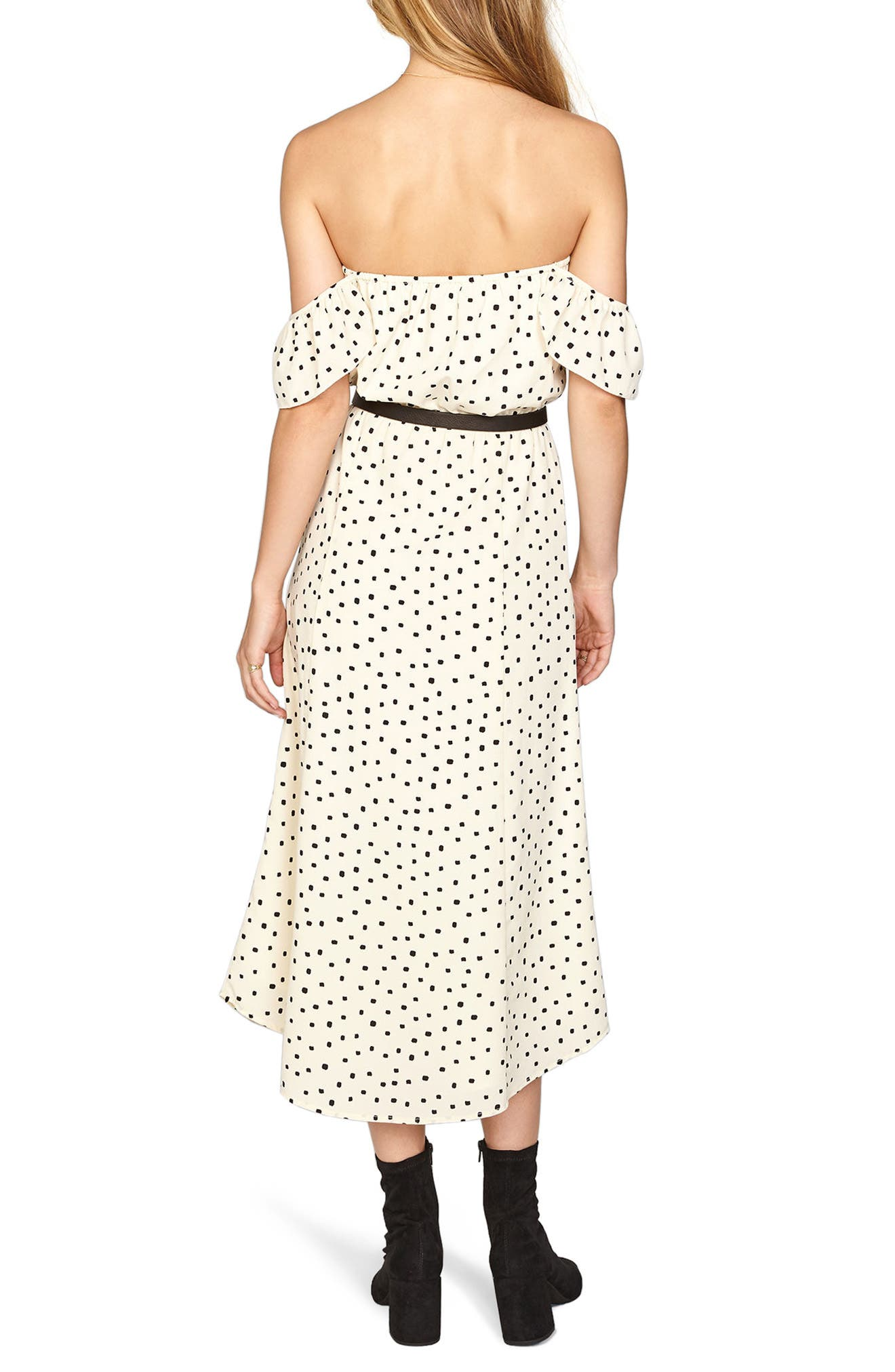 Alternate Image 2  - Amuse Society Sweeter Than You Off the Shoulder Midi Dress