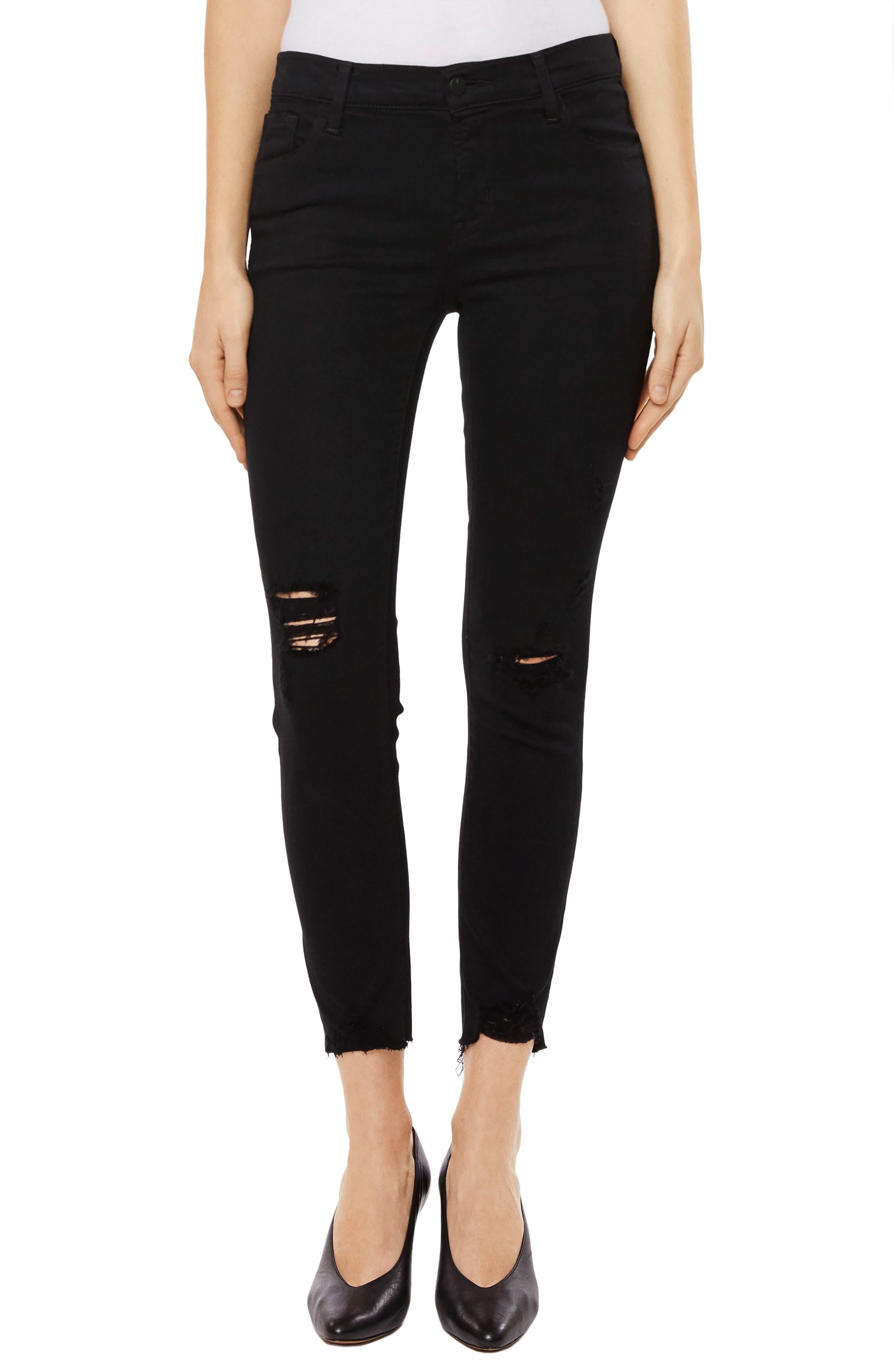 835 Capri Skinny Jeans,                         Main,                         color, Overexposure