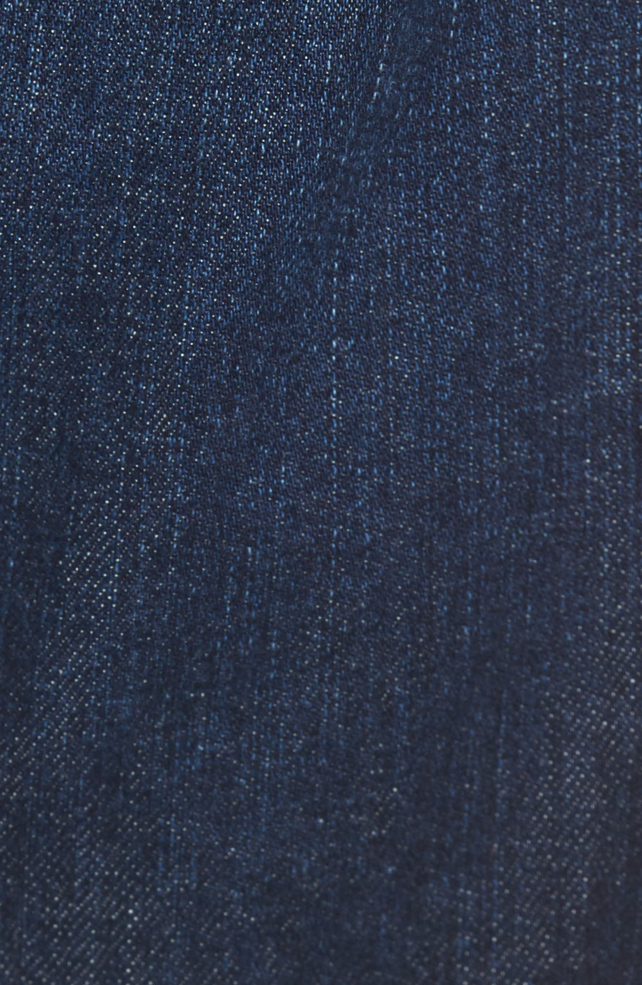Alternate Image 5  - AG Ives Straight Fit Jeans (Series)