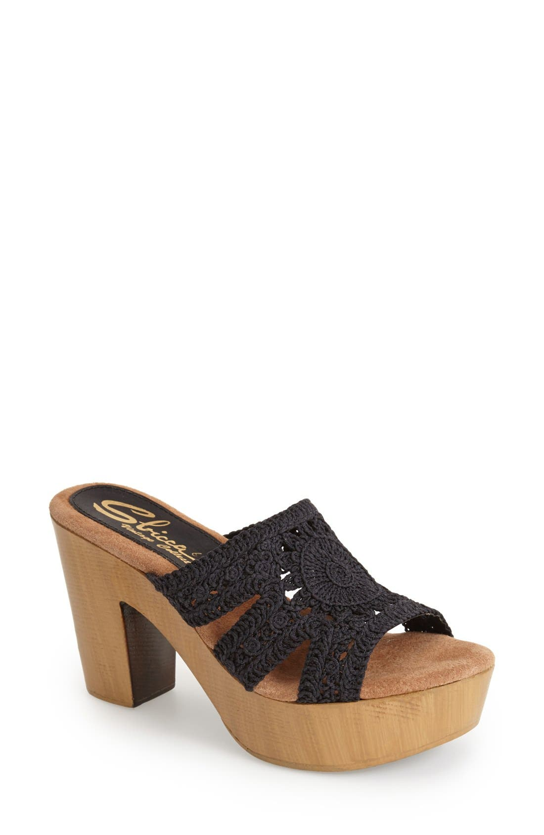Alternate Image 1 Selected - Sbicca 'Sylvan' Platform Sandal (Women)