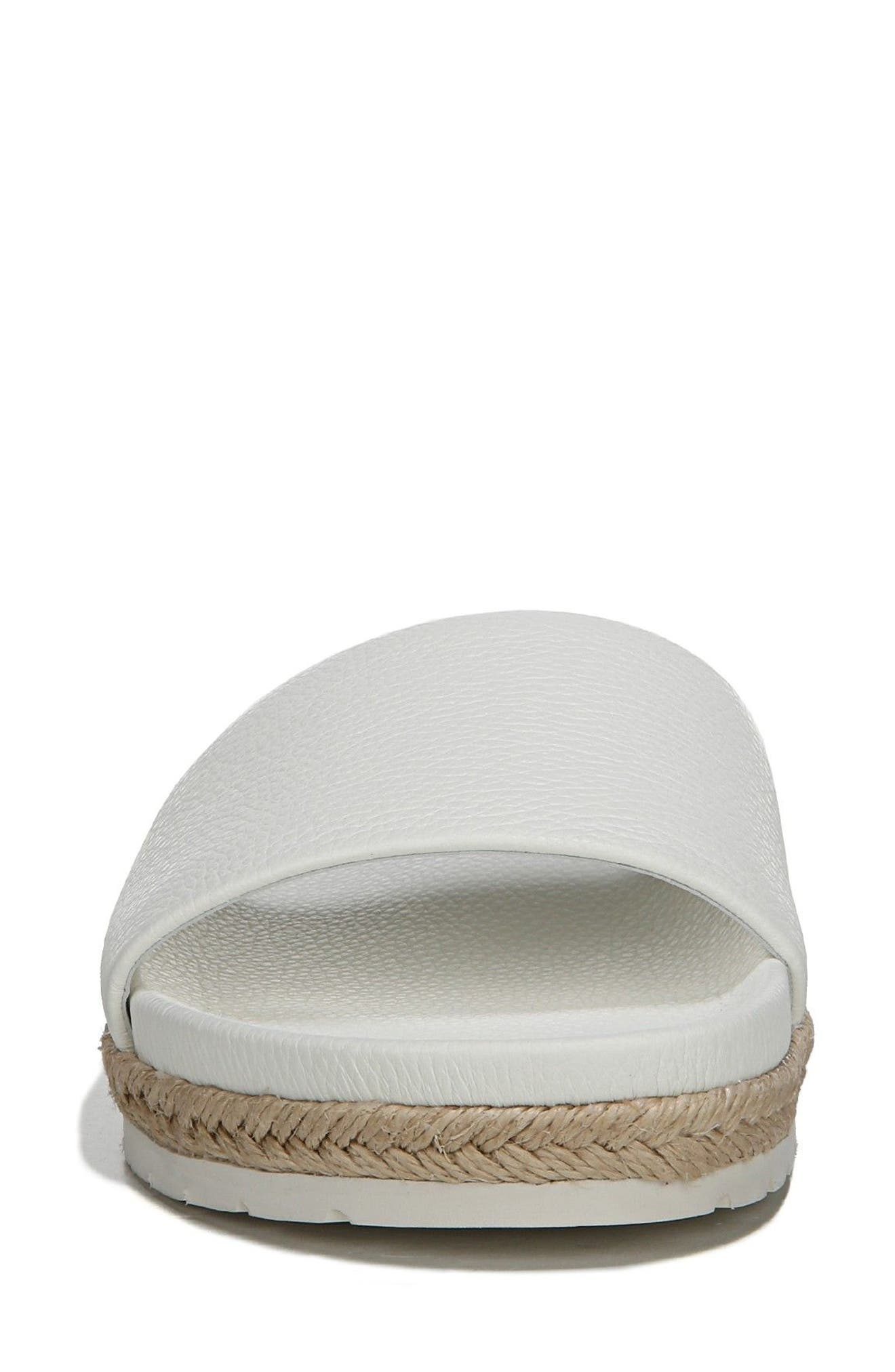 Aurelia Slide Sandal,                             Alternate thumbnail 4, color,                             Panna Cotta