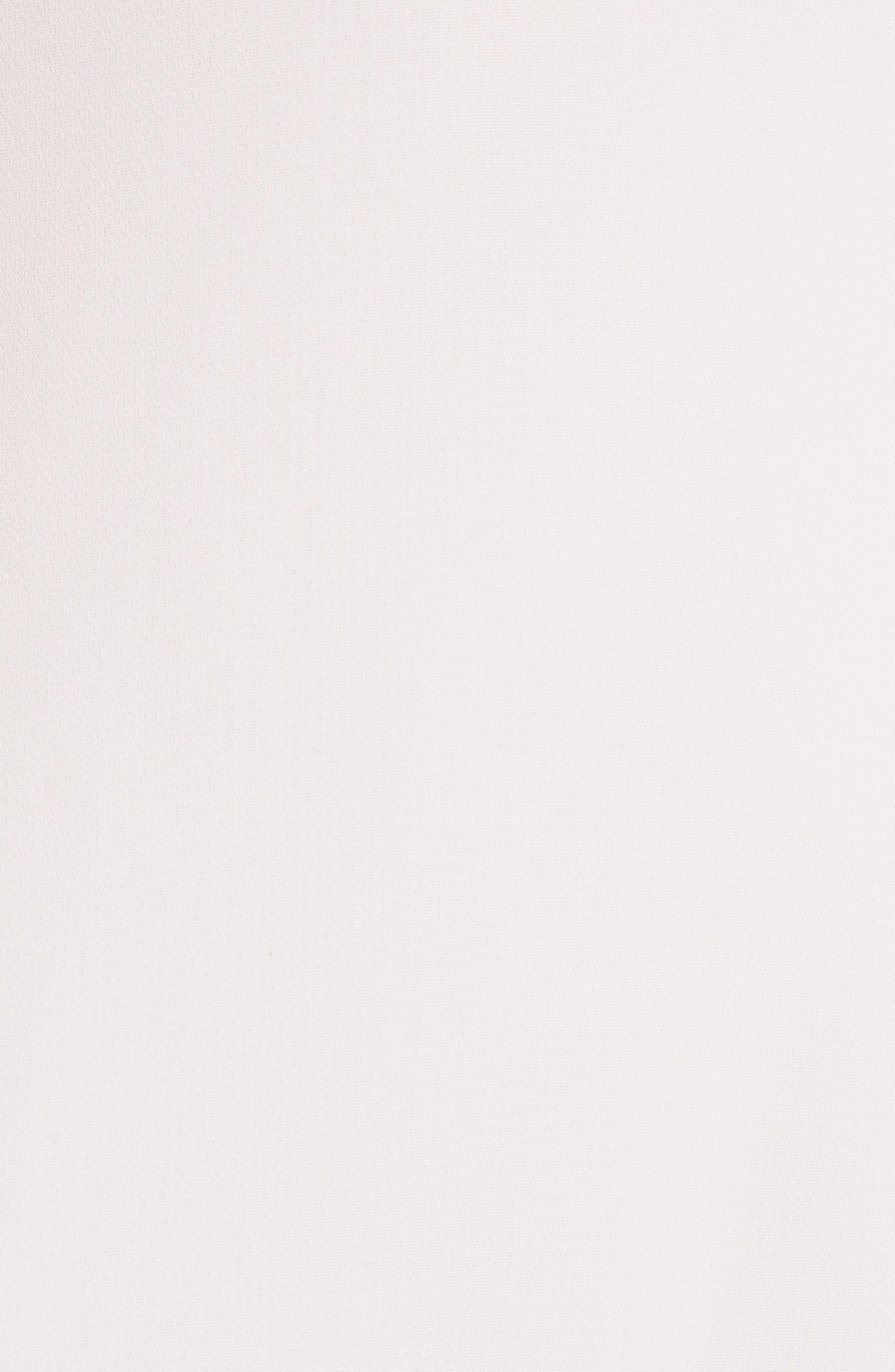 Kimora Ruffle Detail Dress,                             Alternate thumbnail 5, color,                             Pearl Blush