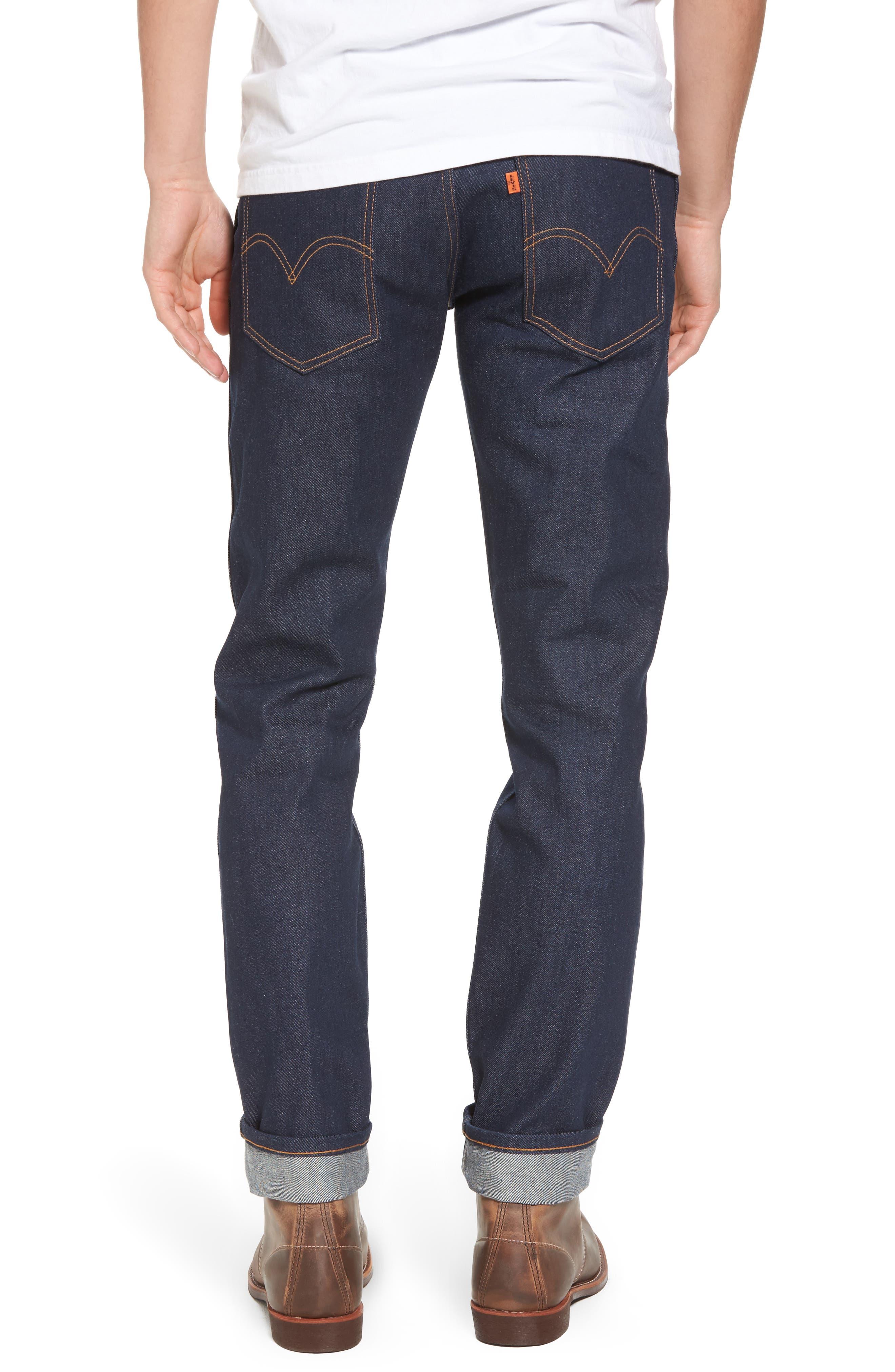1969 606<sup>™</sup> Slim Fit Jeans,                             Alternate thumbnail 2, color,                             Rigid M8017
