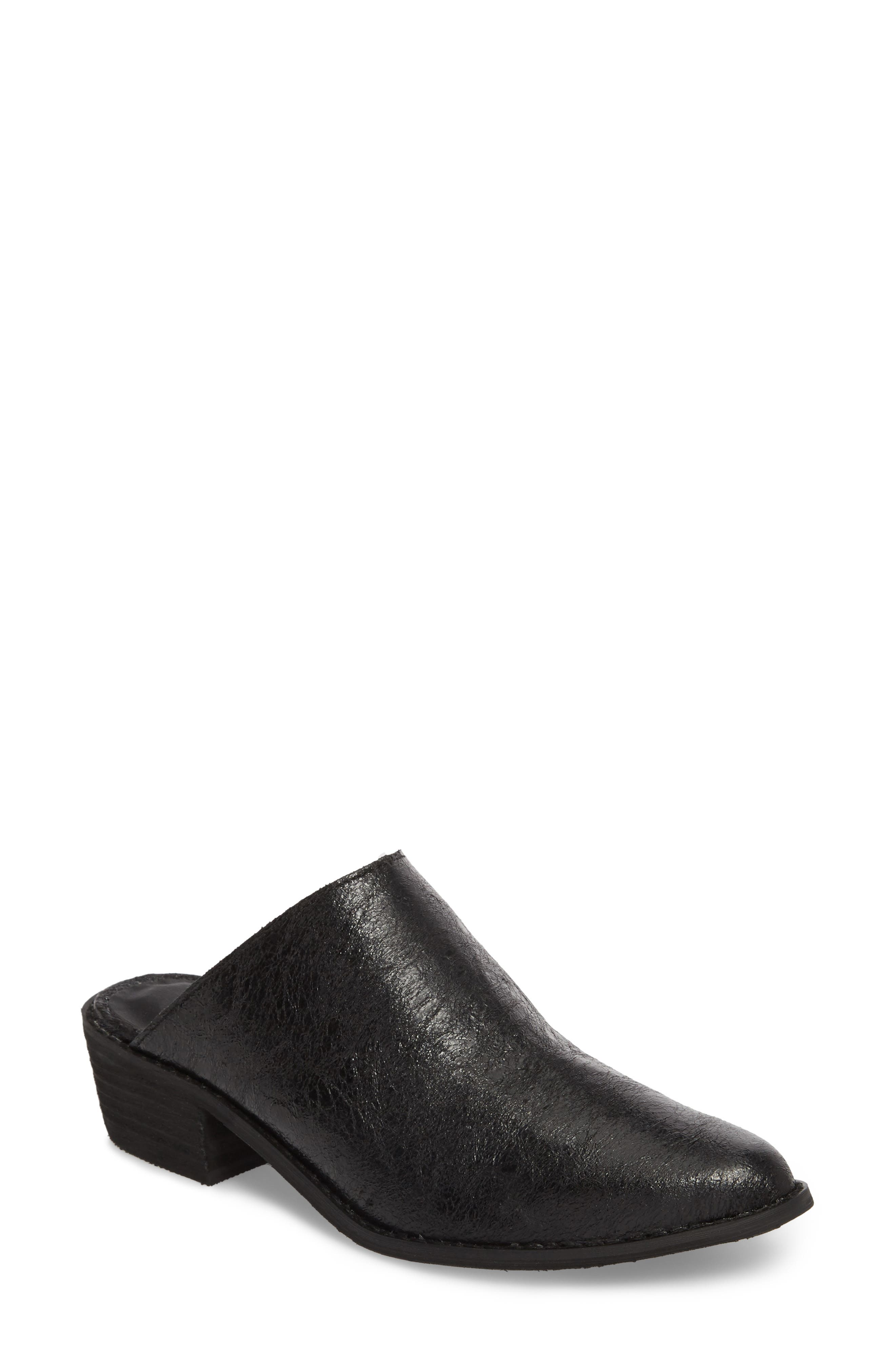 Finesse Mule,                         Main,                         color, Black