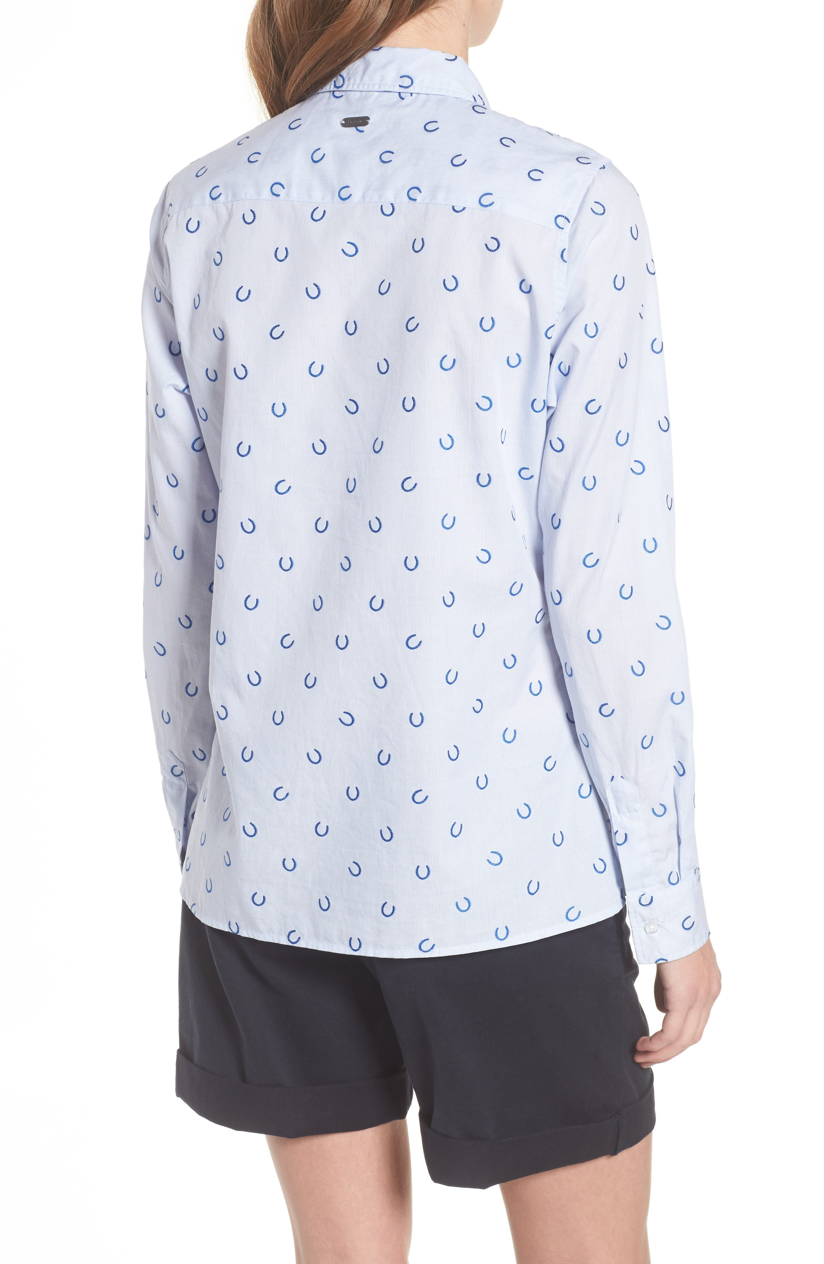 Daisyhill Regular Fit Shirt,                             Alternate thumbnail 2, color,                             Pale Blue