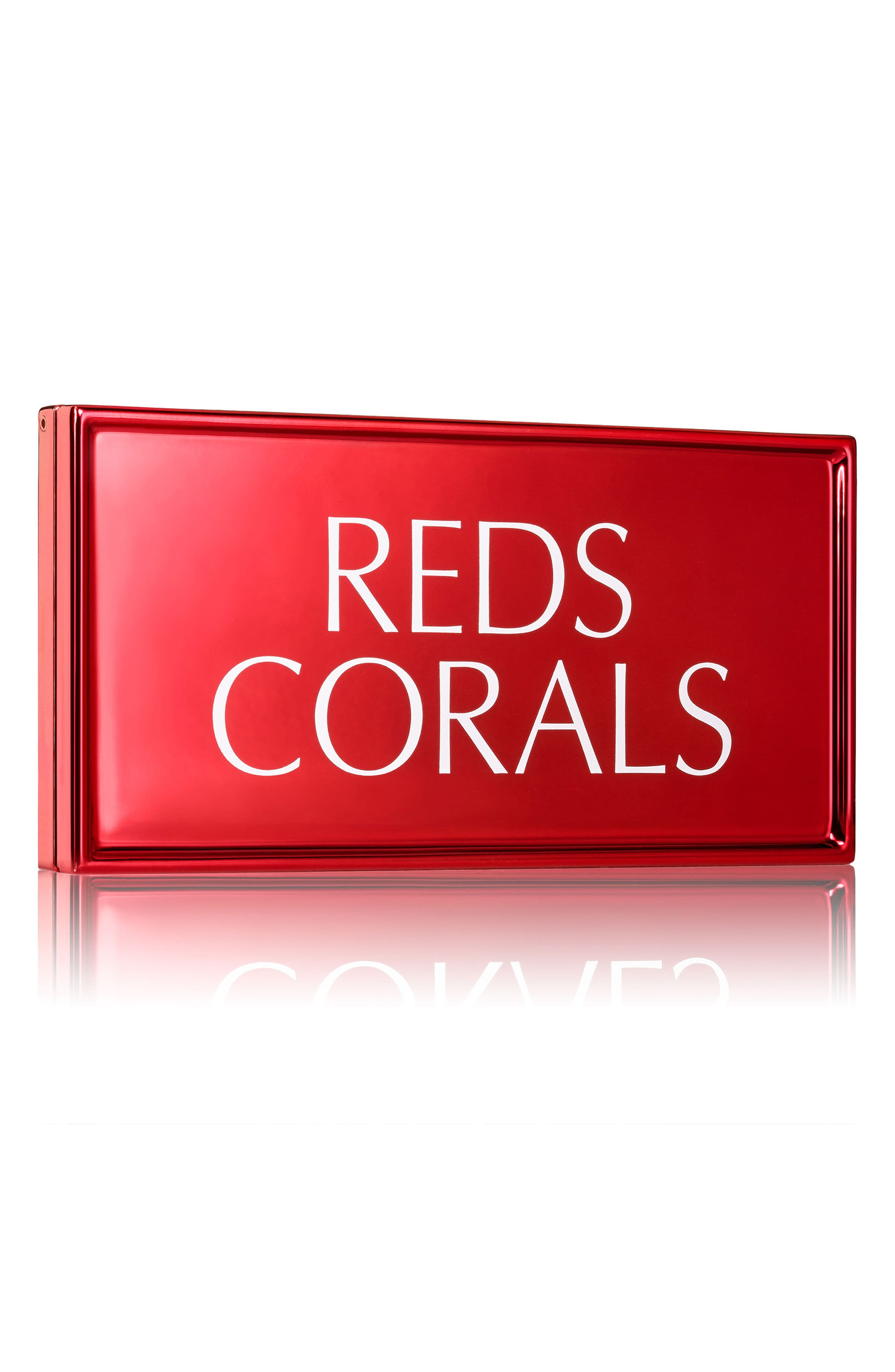 Red + Corals Lip Palette,                             Alternate thumbnail 3, color,                             No Color