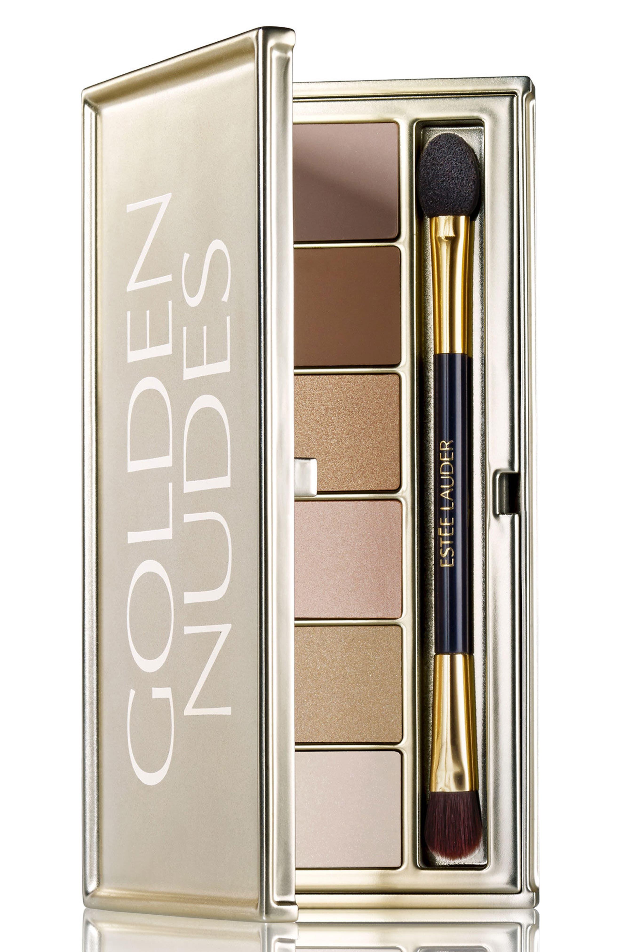 Golden Nudes Eyeshadow Palette,                             Main thumbnail 1, color,                             No Color